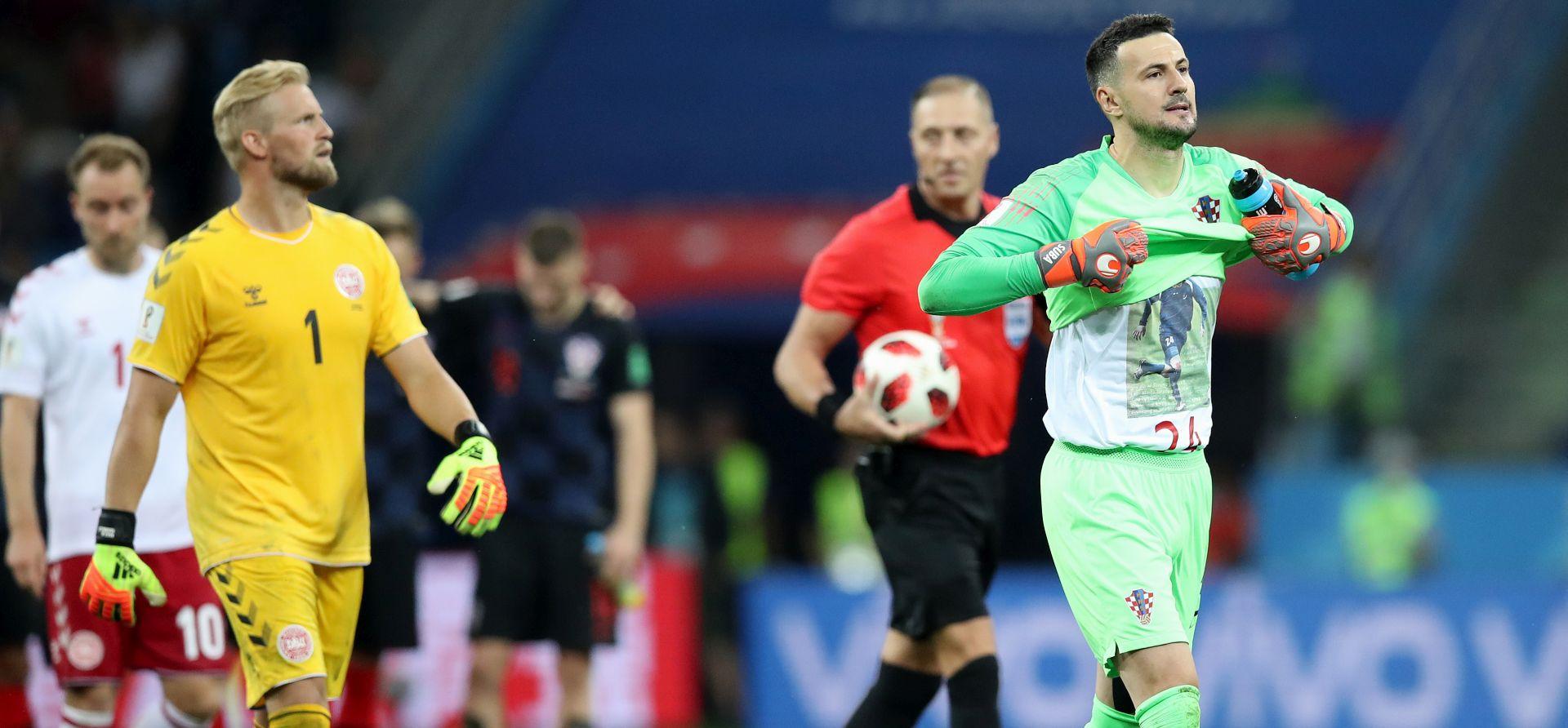FIFA opomenula Subašića zbog majice s likom Hrvoja Čustića