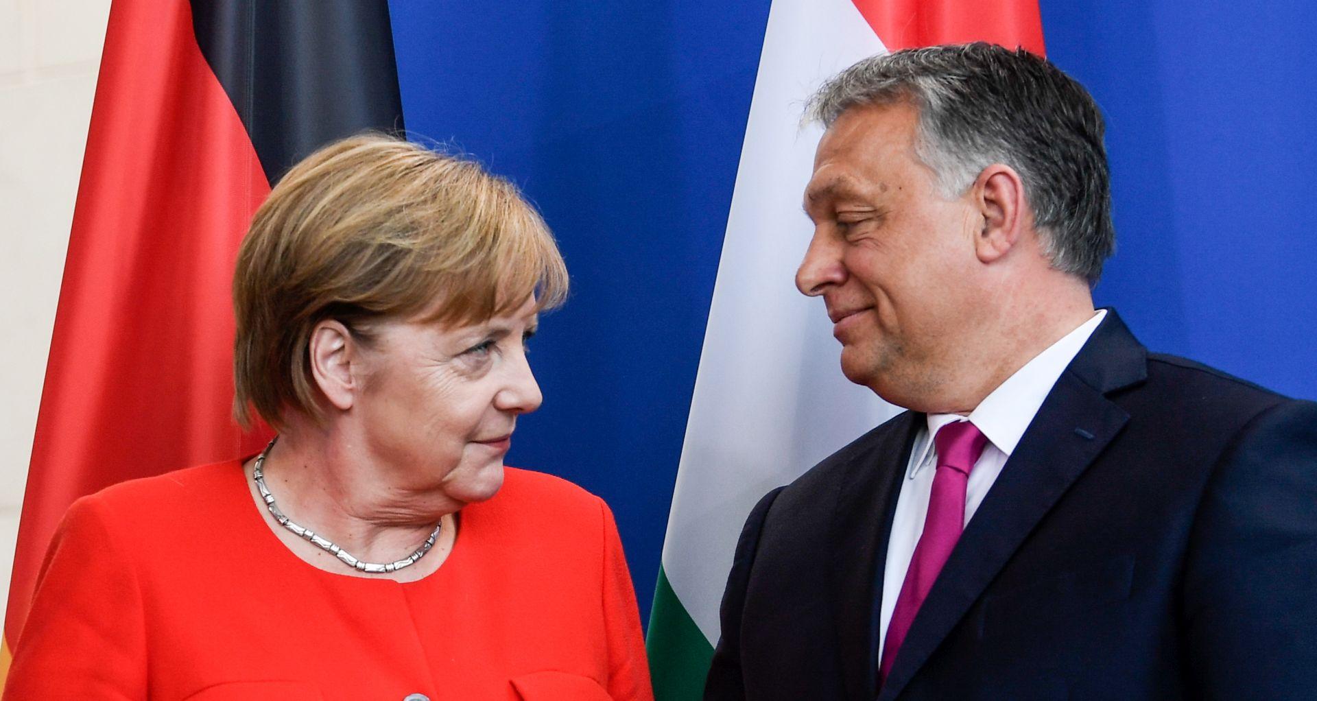 Merkel i Orban obilježavaju trideset godina od pada željezne zavjese