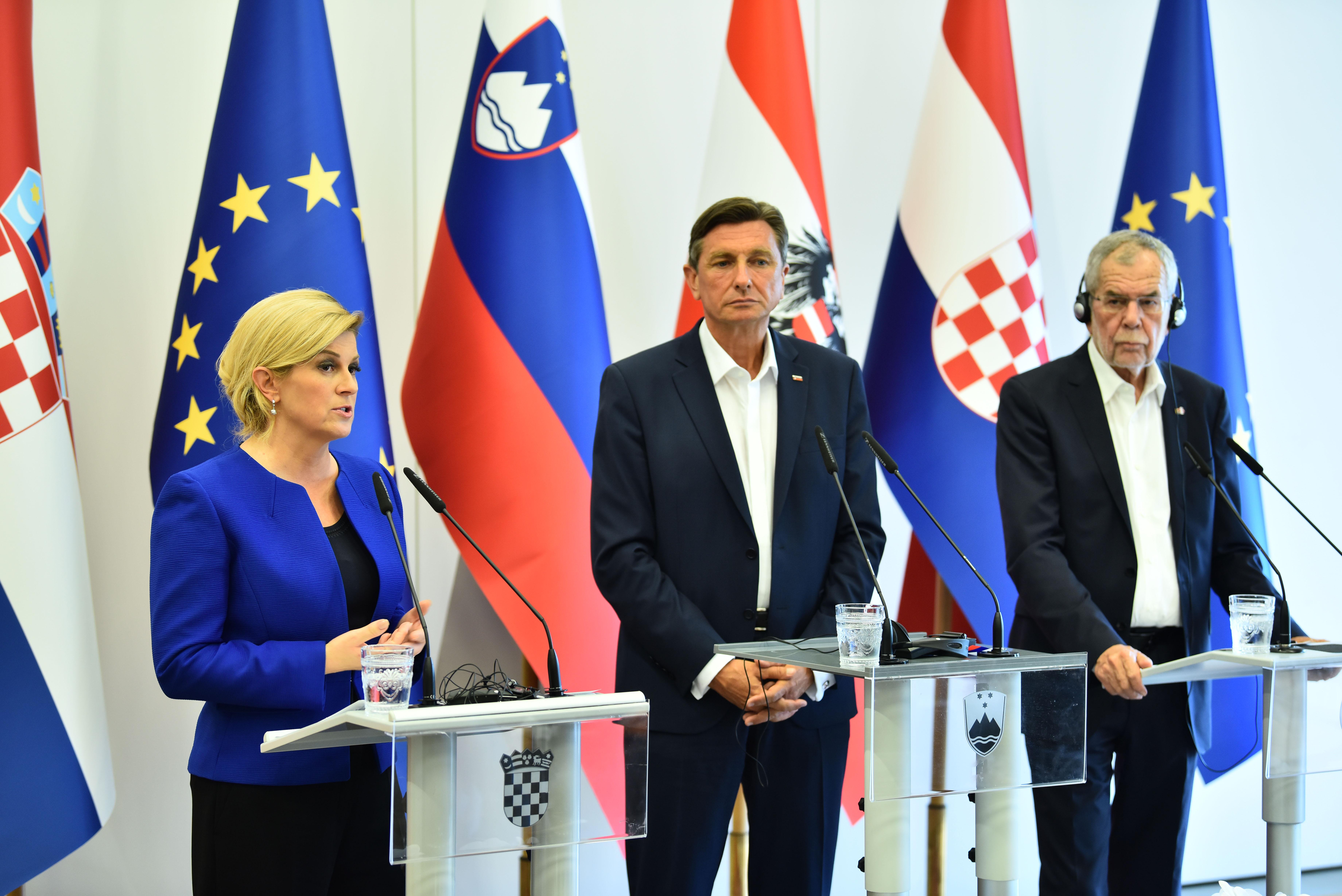 Predsjednici Hrvatske, Slovenije i Austrije podržali europsku perspektivu država jugoistočne Europe