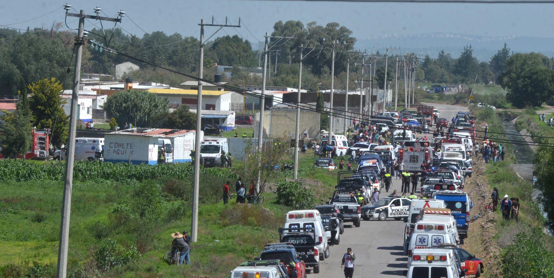 Eksplozije u skladištu vatrometa, najmanje 24 mrtvih