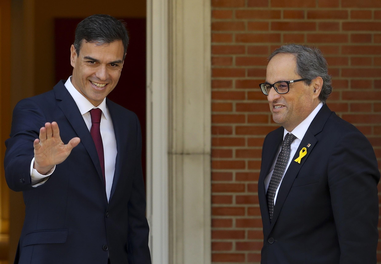Španjolski premijer po prvi put se sastao s katalonskim vođom