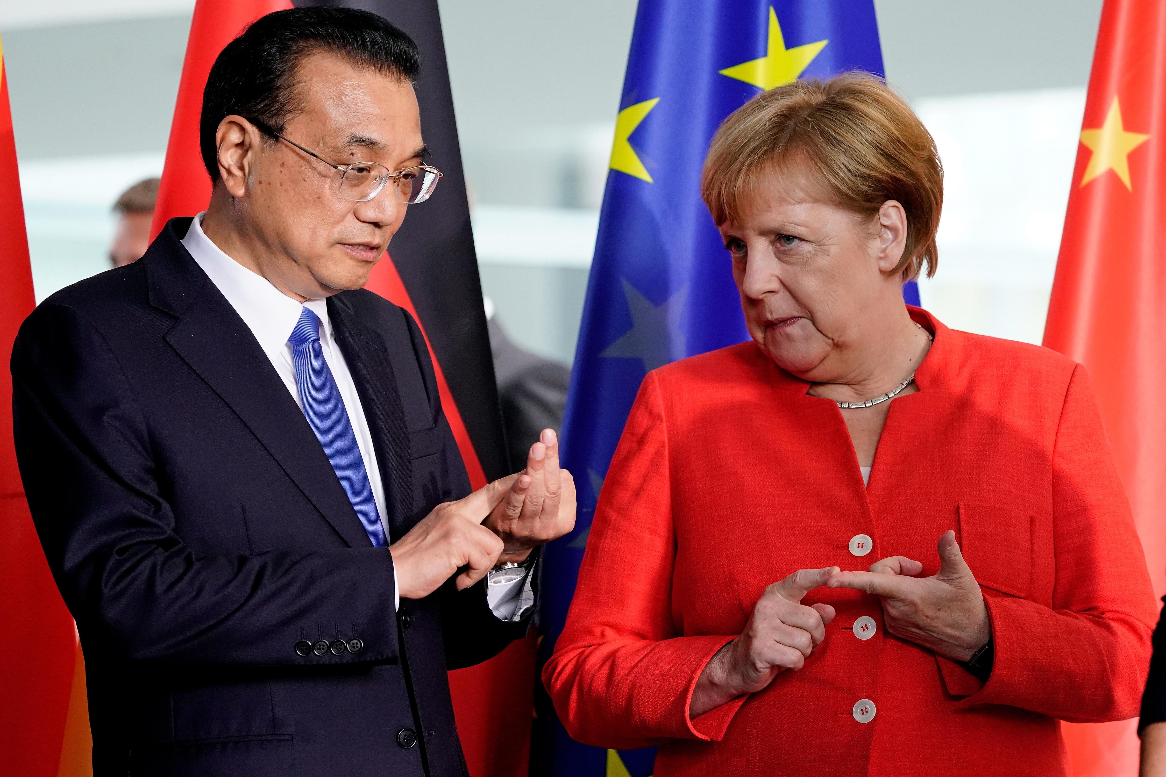 Merkel i kineski premijera Li istaknuli potrebu za uspostavom multilateralnih pravila za globalnu trgovinu