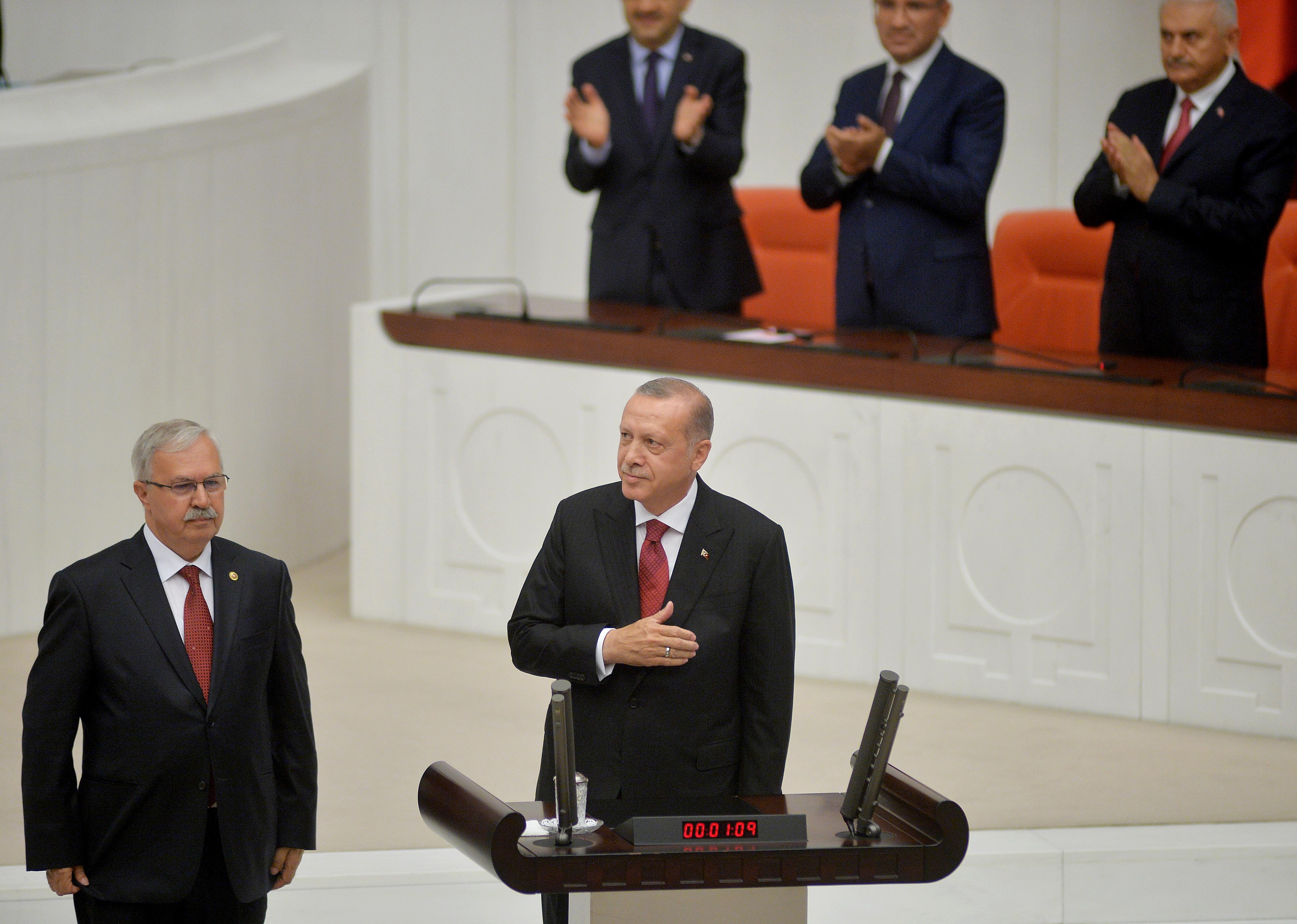 Erdogan prisegnuo kao prvi turski predsjednik sa znatno proširenim ovlastima