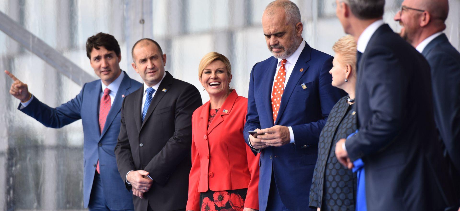 """PREDSJEDNICA """"Uspješan summit NATO-a unatoč povremenim napetostima"""""""