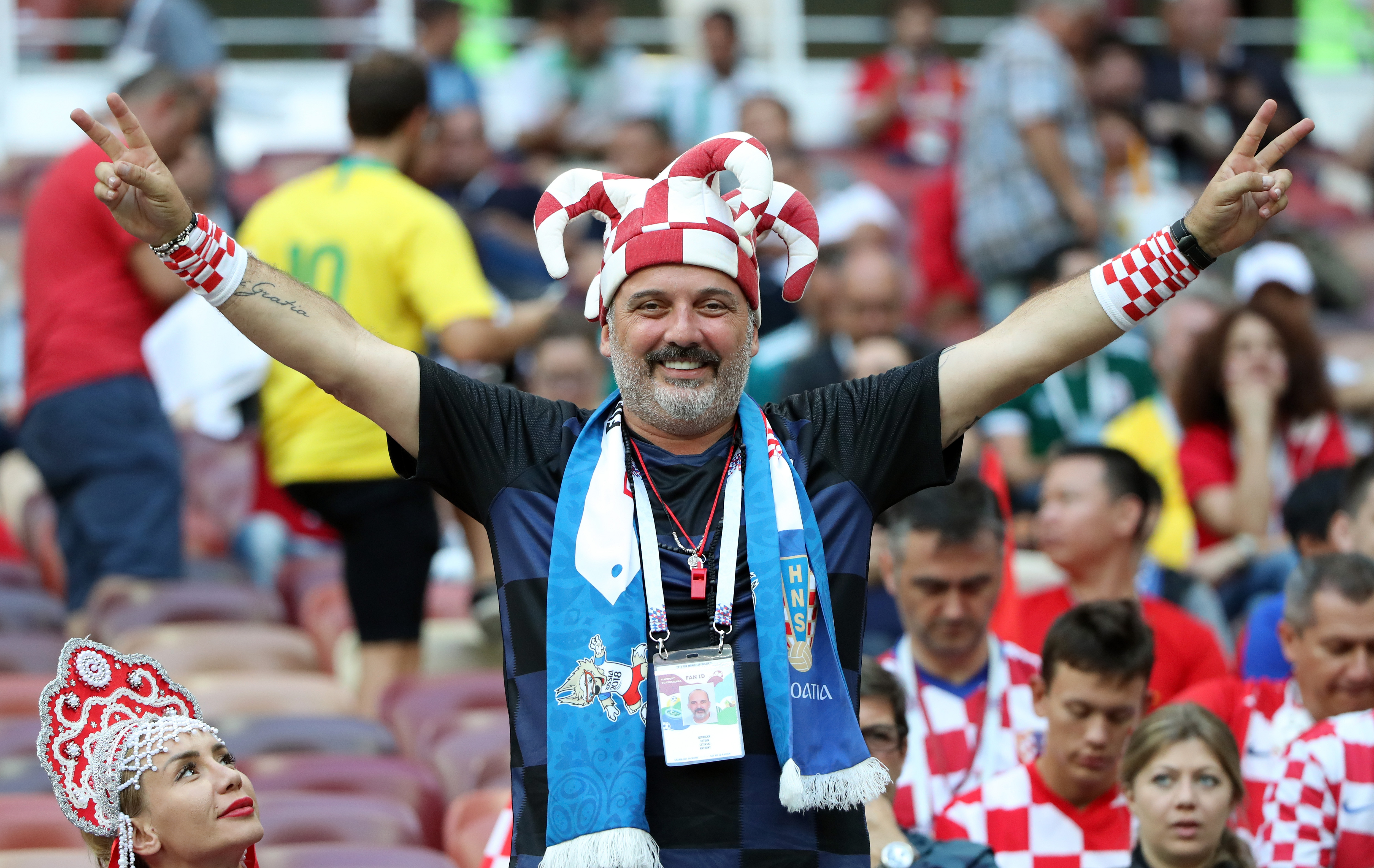 Na tribinama Medvjedev, Planković, Maradona, Totti, Bilić…