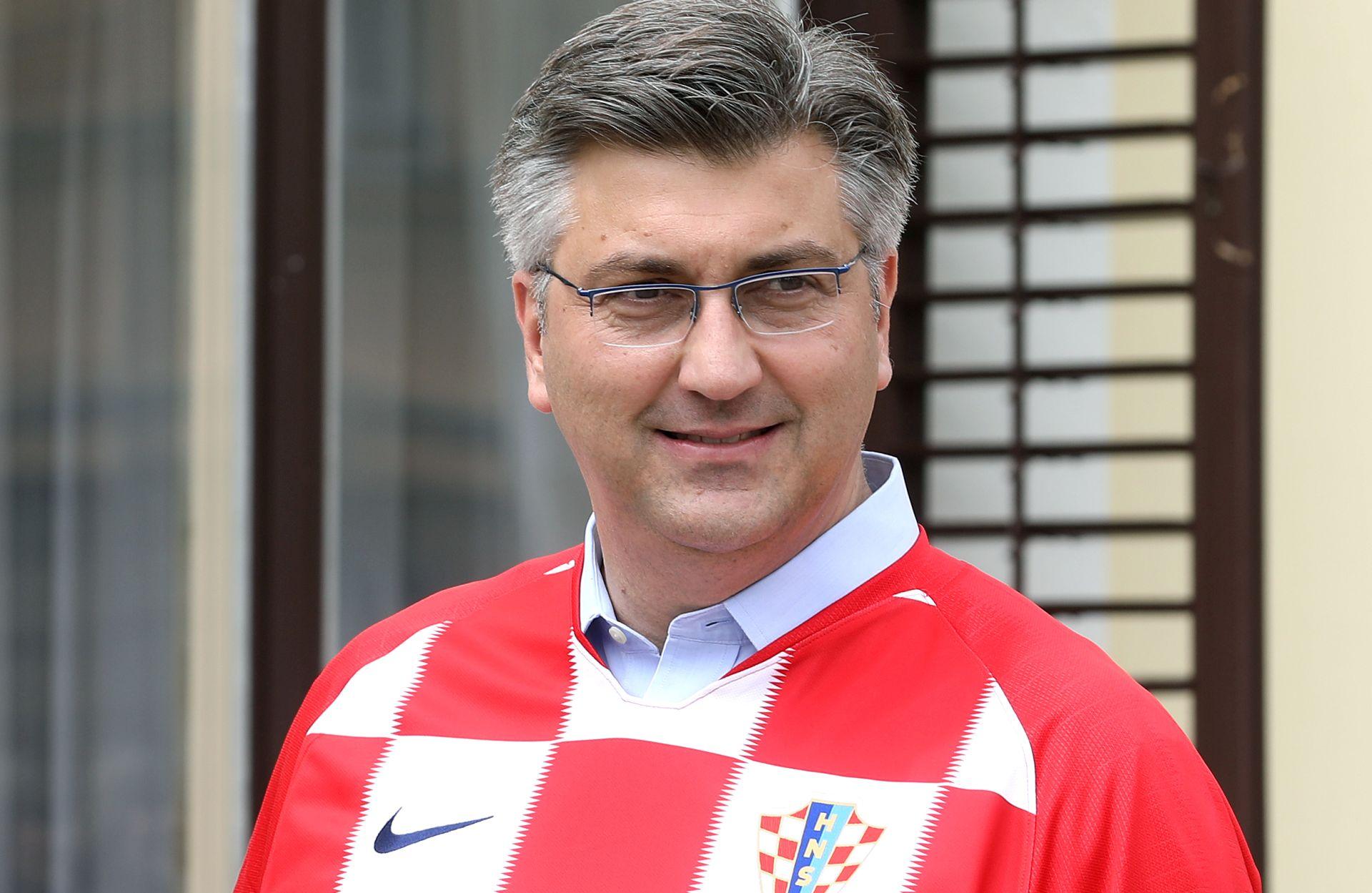 """PLENKOVIĆ """"Najbolje želje iz Hrvatske za dečke u Moskvi"""""""