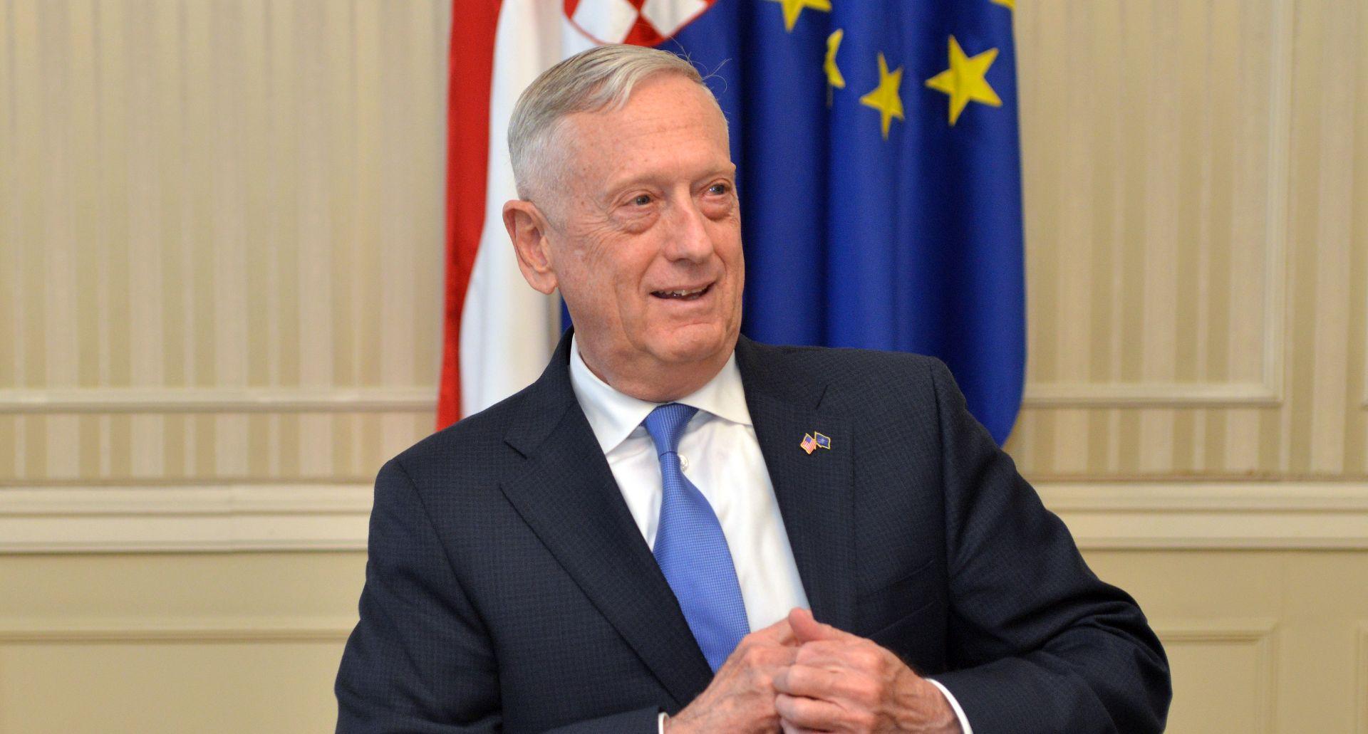 Predsjednica razgovarala s američkim ministrom obrane Mattisom