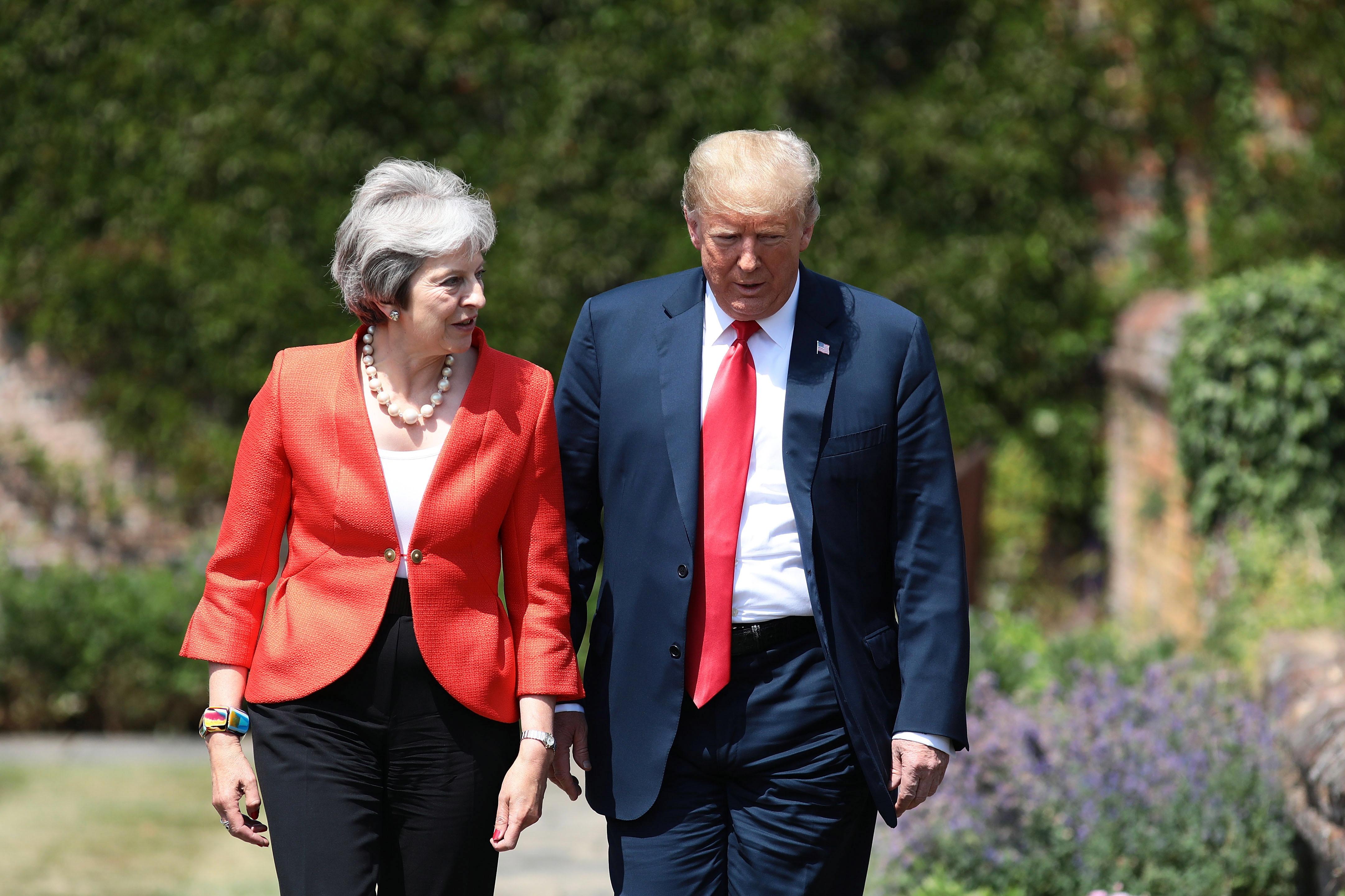 Trump i May streme ambicioznom sporazumu o slobodnoj trgovini