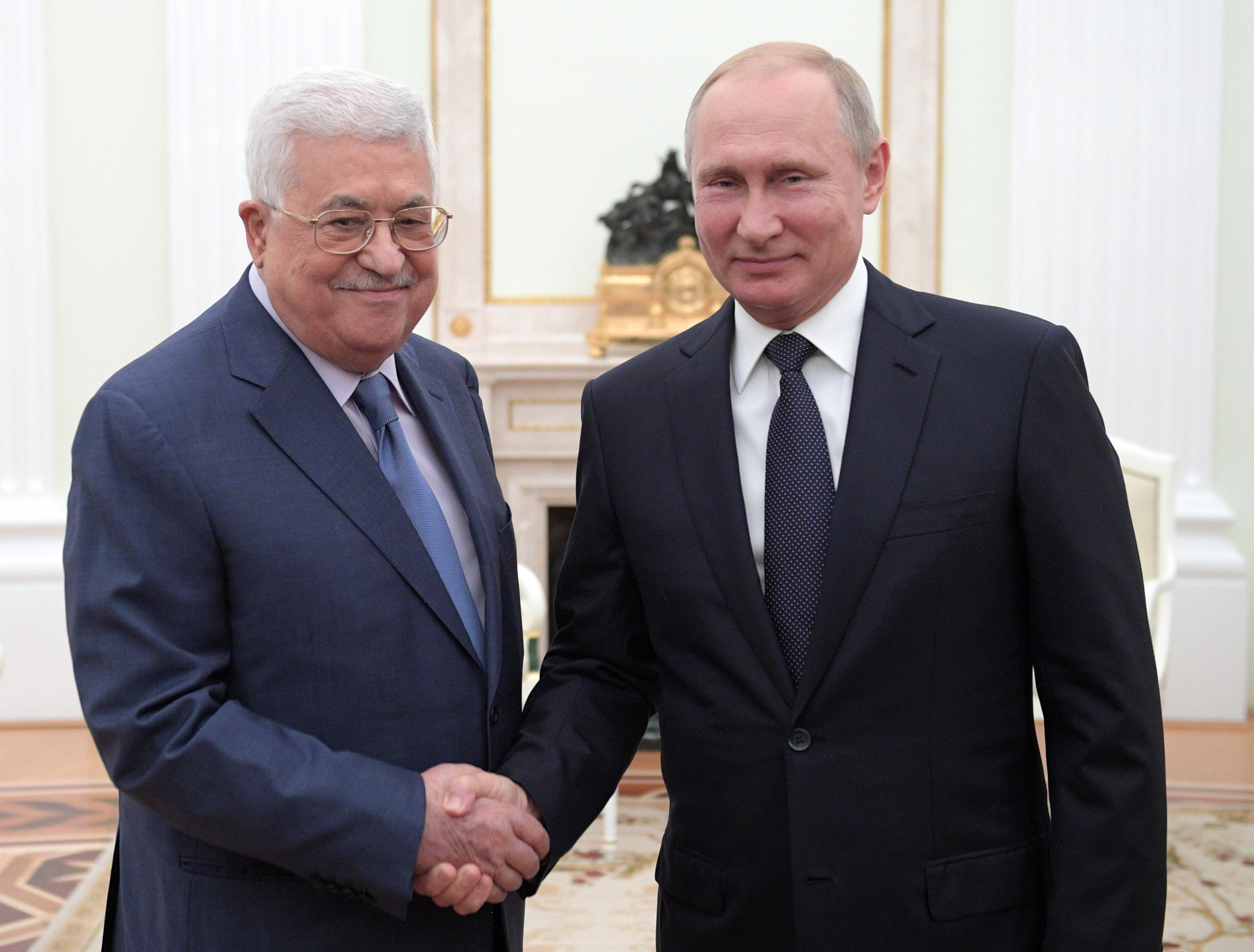 Putin se sastao s palestinskim predsjednikom Abasom