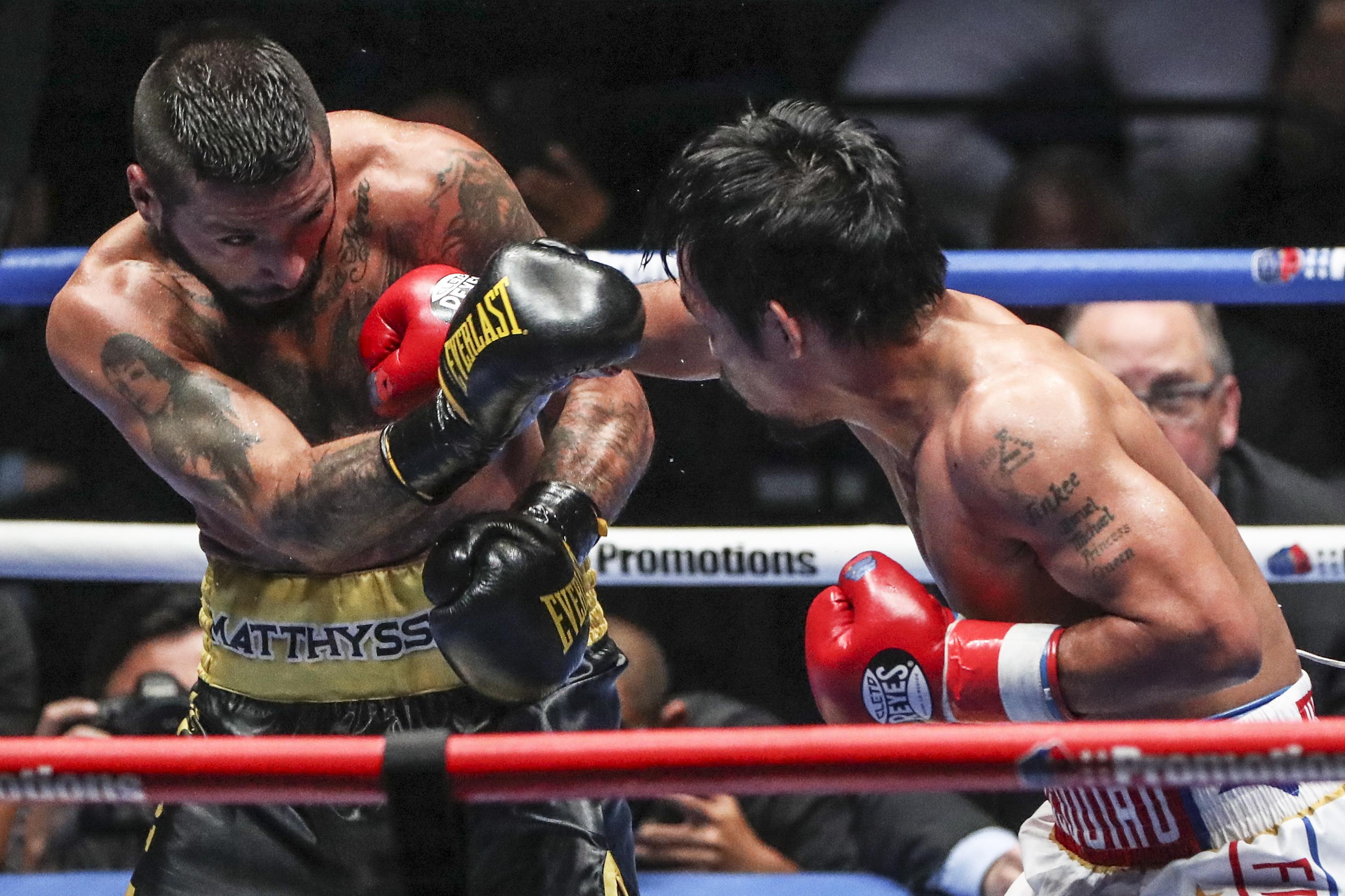 Pacquiao nokautirao Matthysa za naslov WBA svjetskog prvaka