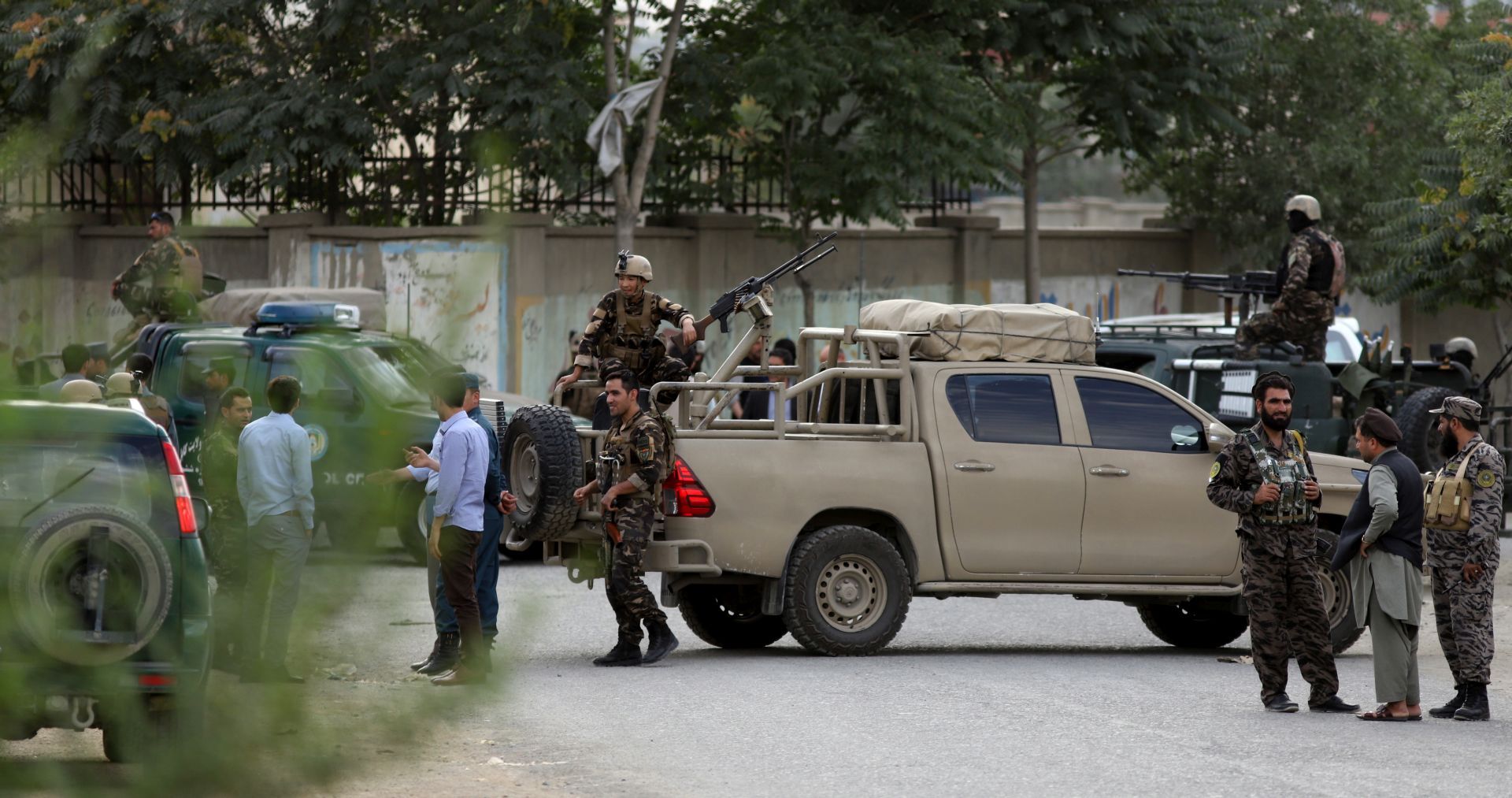 Samoubilački napad u Kabulu, 16 mrtvih