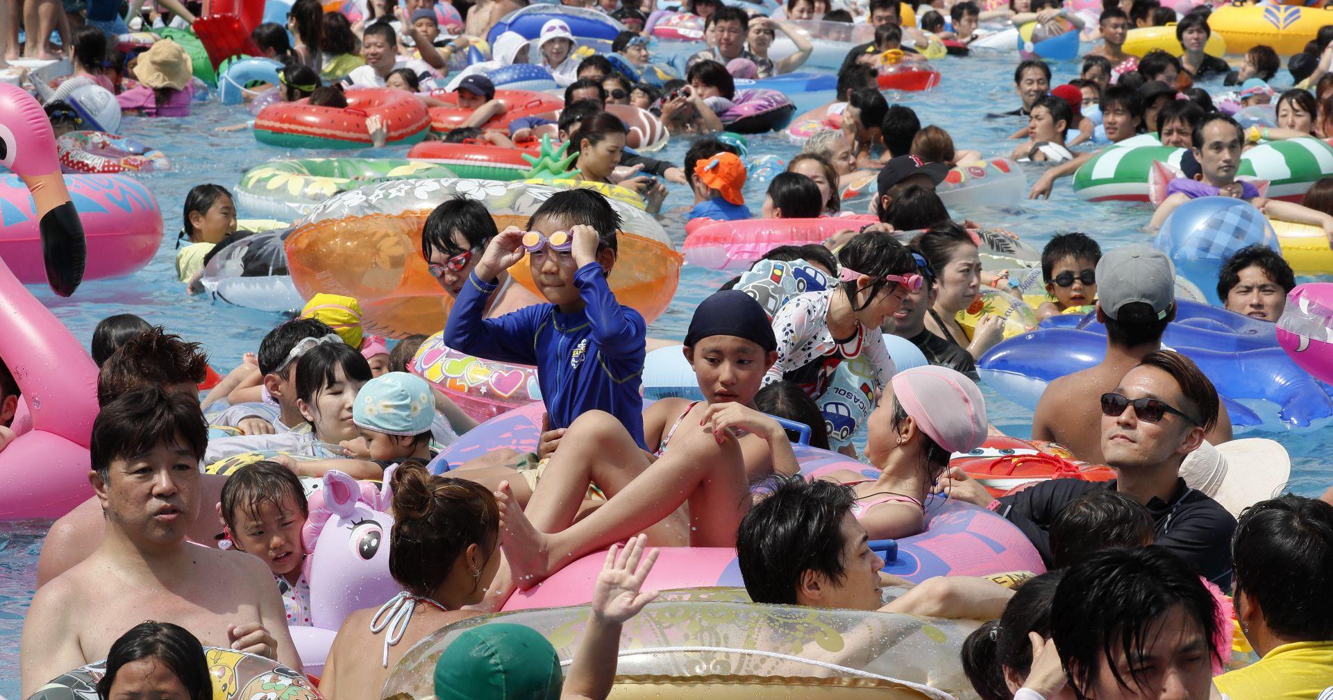VLASTI IZDALE UPOZORENJA Val vrućine u Japanu