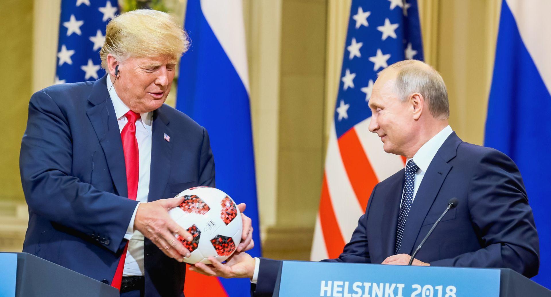Trump od Putina dobio loptu s finala SP-a