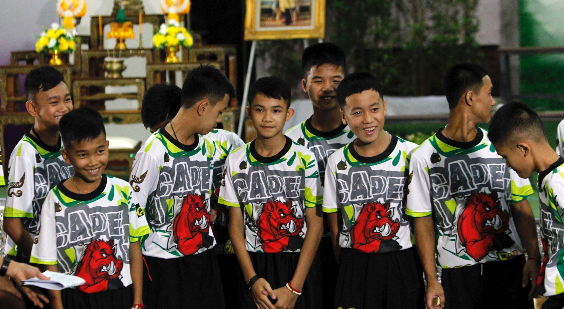 """Tajlandski dječaci izašli iz bolnice: """"Nisam vjerovao da je netko tamo"""""""
