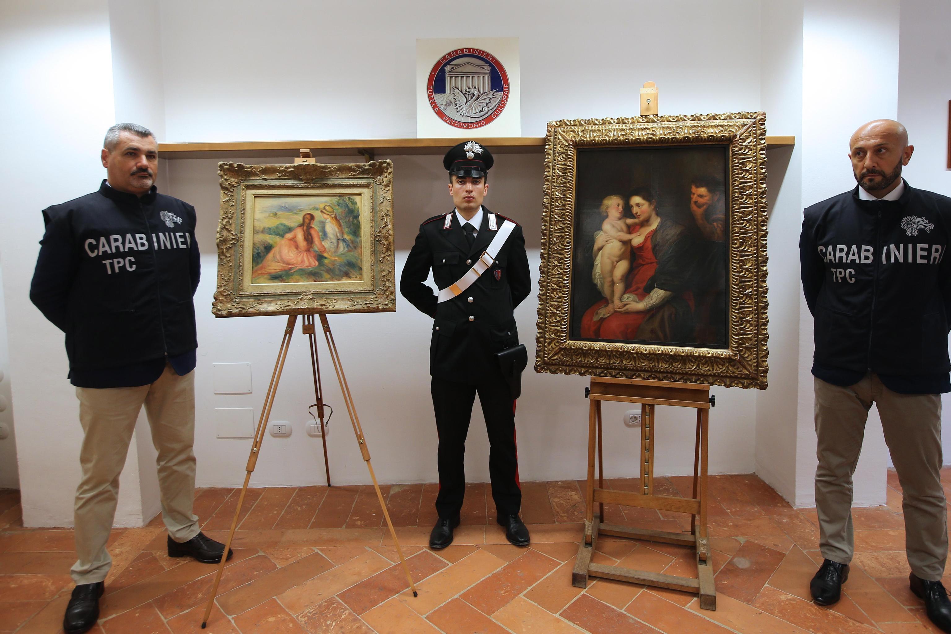 ITALIJA Pronađene ukradene slike Rubensa i Renoira, među osumnjičenima i Hrvat