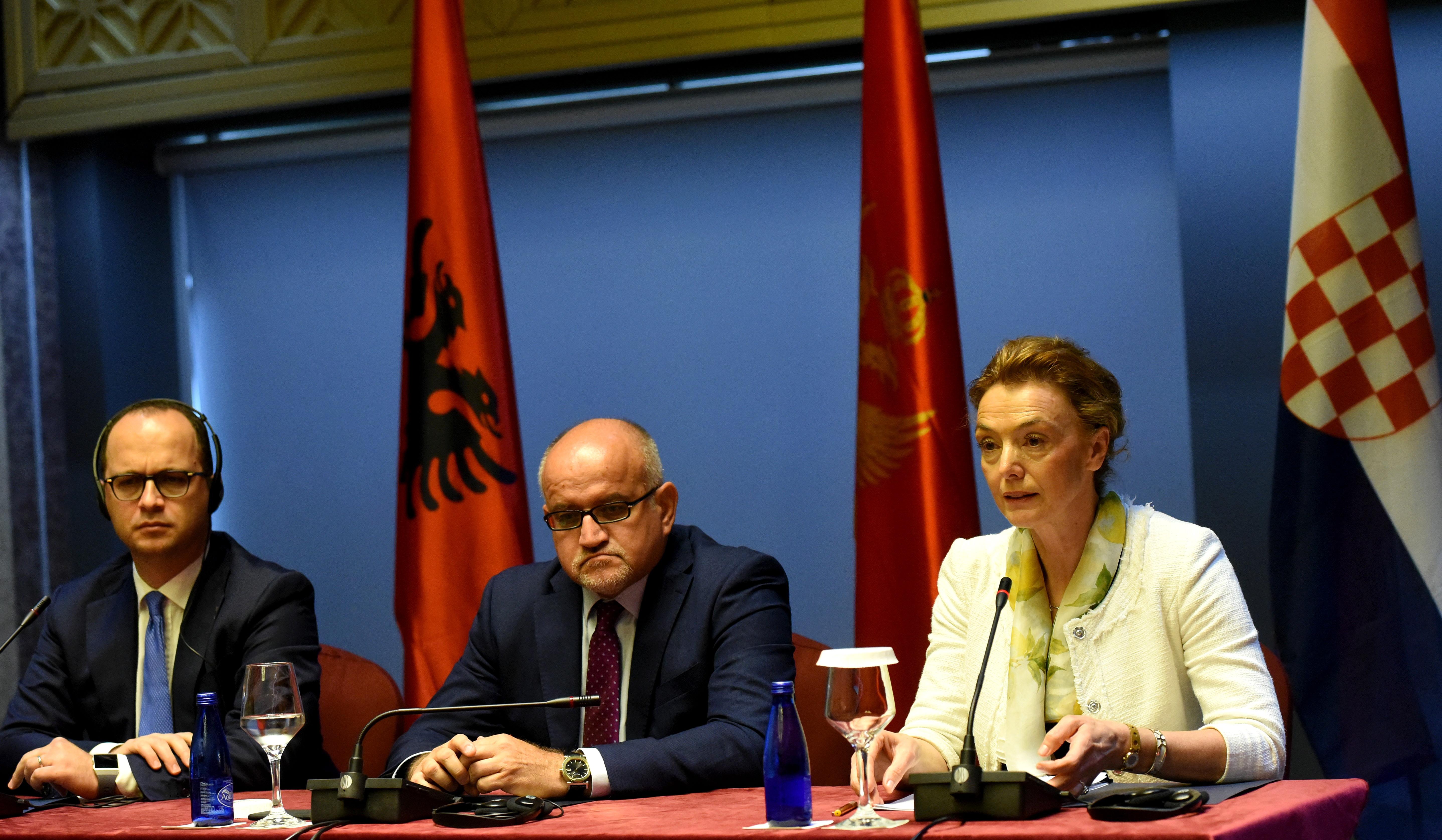 Pejčinović Burić sudjelovala na trećem sastanku ministara vanjskih poslova trilaterale Hrvatska – Albanija – Crna Gora