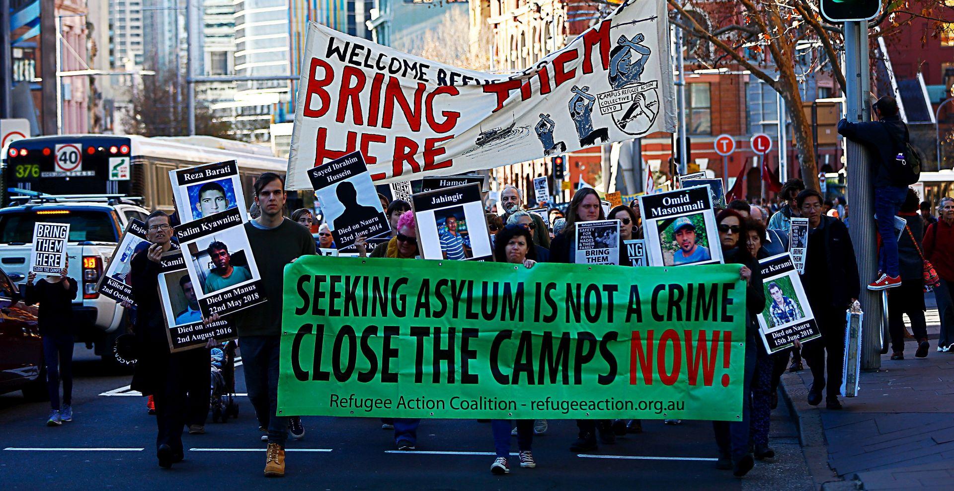 AUSTRALIJA Prosvjedi protiv vladine imigrantske politike