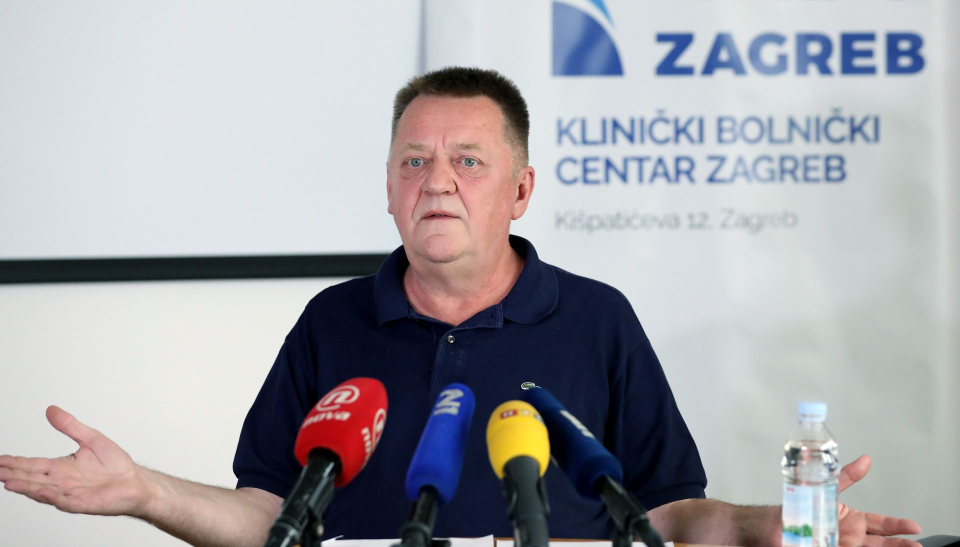 Pomoćnik ravnatelja KBC-a Zagreb: 'Izgubili smo 403 bolnička kreveta. Pacijenti su se morali stisnuti…'
