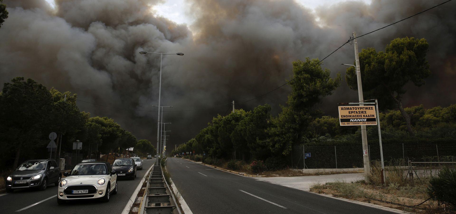 VELIKI POŽARI U GRČKOJ U dvorištu vile pronađeno 26 spaljenih tijela