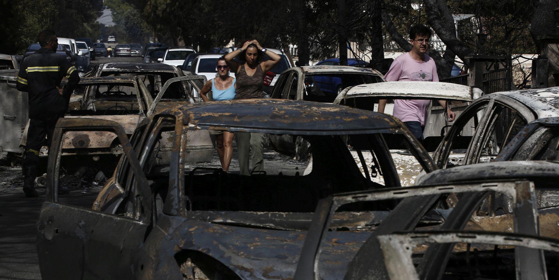 MVEP Nema stradalih hrvatskih državljana u požarima u Grčkoj