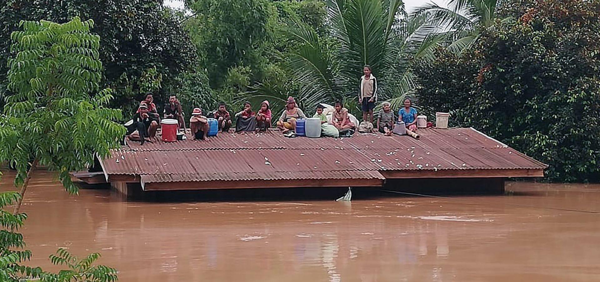 Najmanje 20 mrtvih i 100 nestalih nakon puknuća brane u Laosu