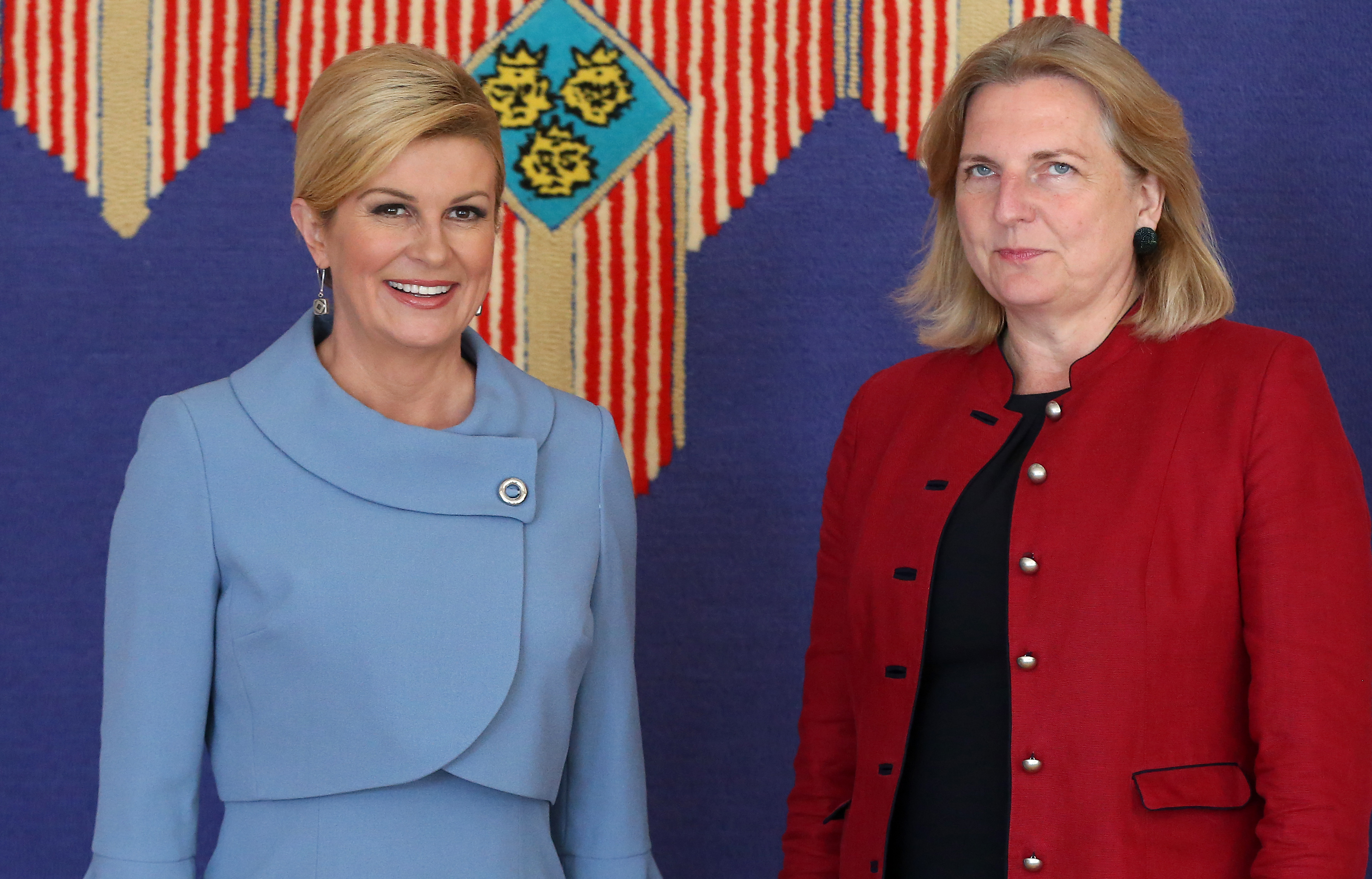 Predsjednica se sastala s austrijskom ministricom Kneissl