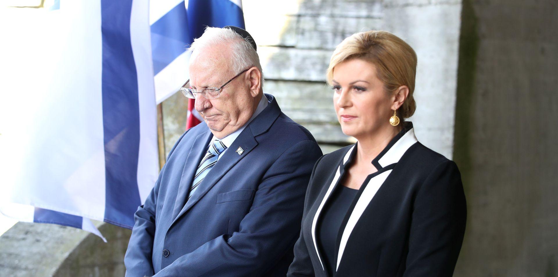 """RIVLIN I GRABAR KITAROVIĆ U JASENOVCU """"Ovo je balkanski Auschwitz"""""""