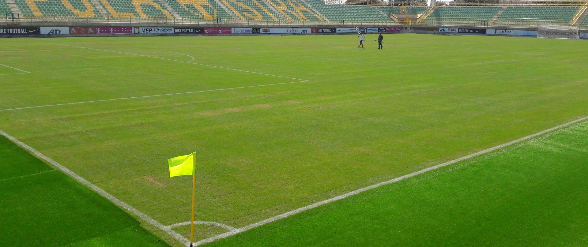Stadion Aldo Drosina dobio novi hibridni travnjak