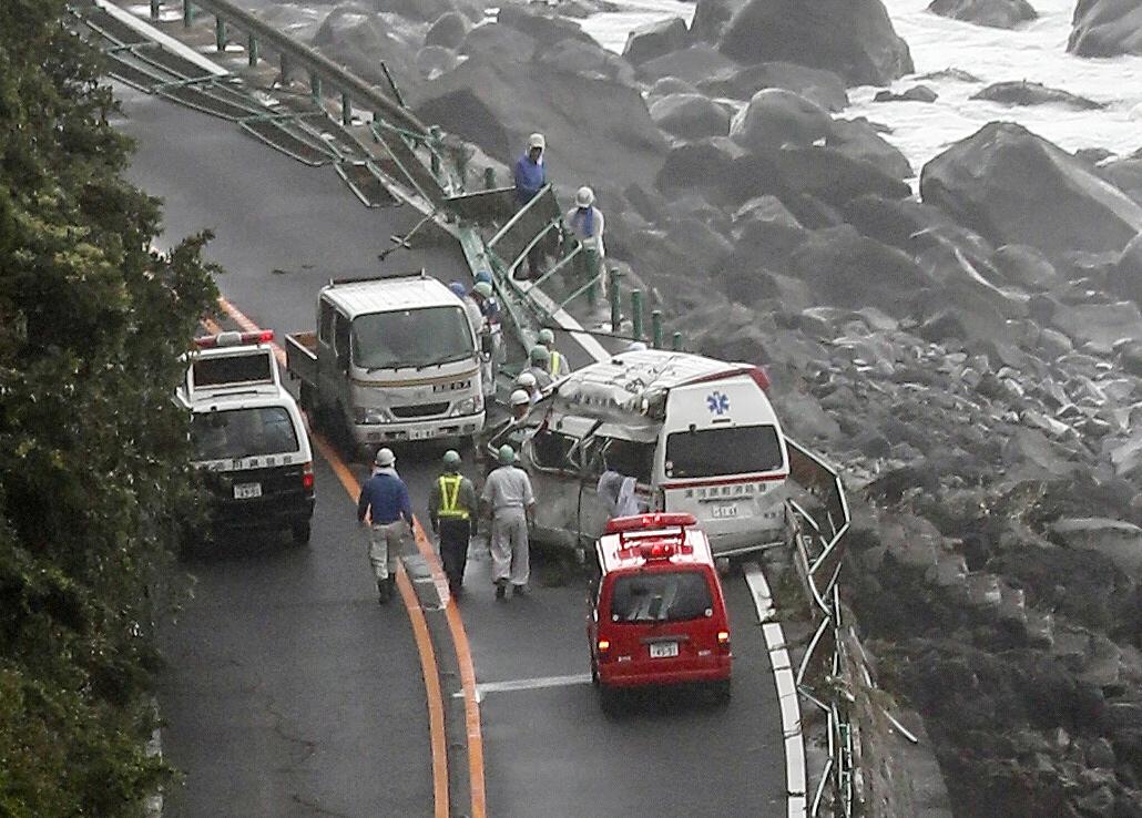 Tajfun pogodio Japan nakon katastrofalnih poplava