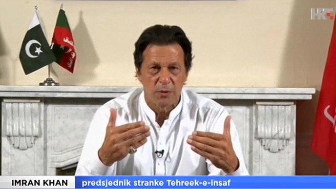 ZVIJEZDA KRIKETA Imran Khan novi pakistanski premijer