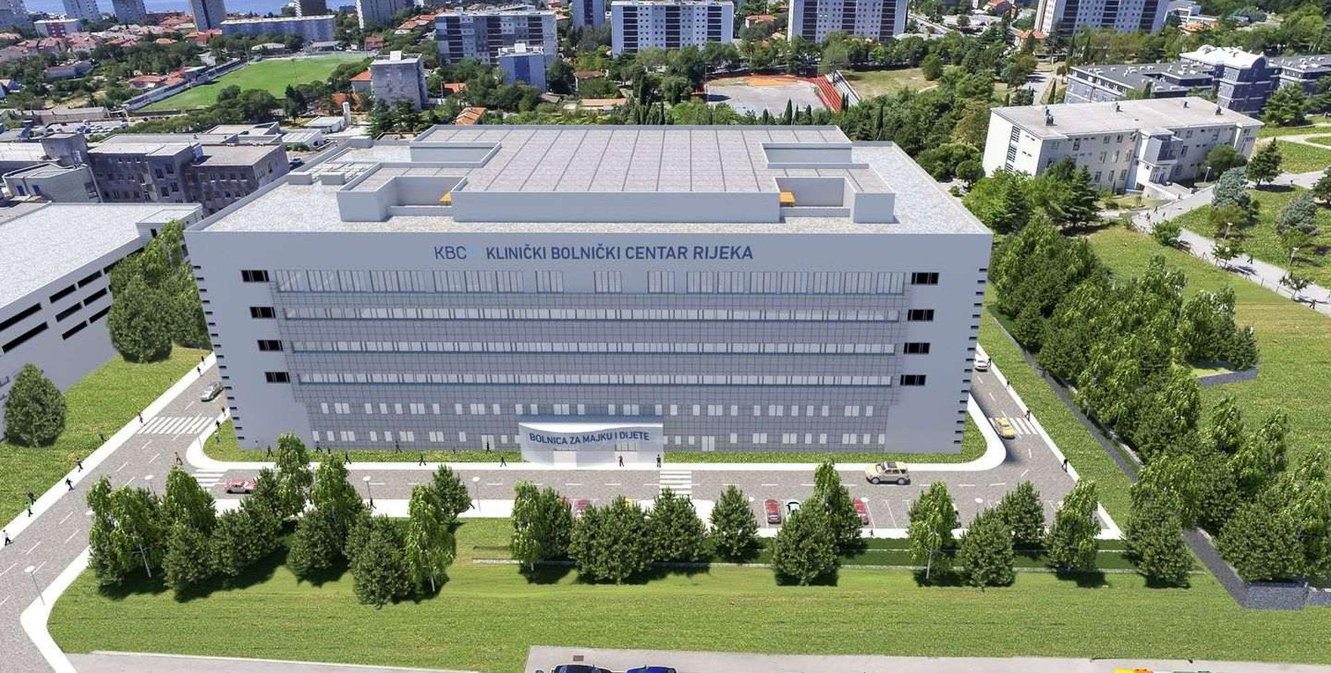 Vlada dala jamstva, nastavlja se gradnja novog riječkog KBC-a