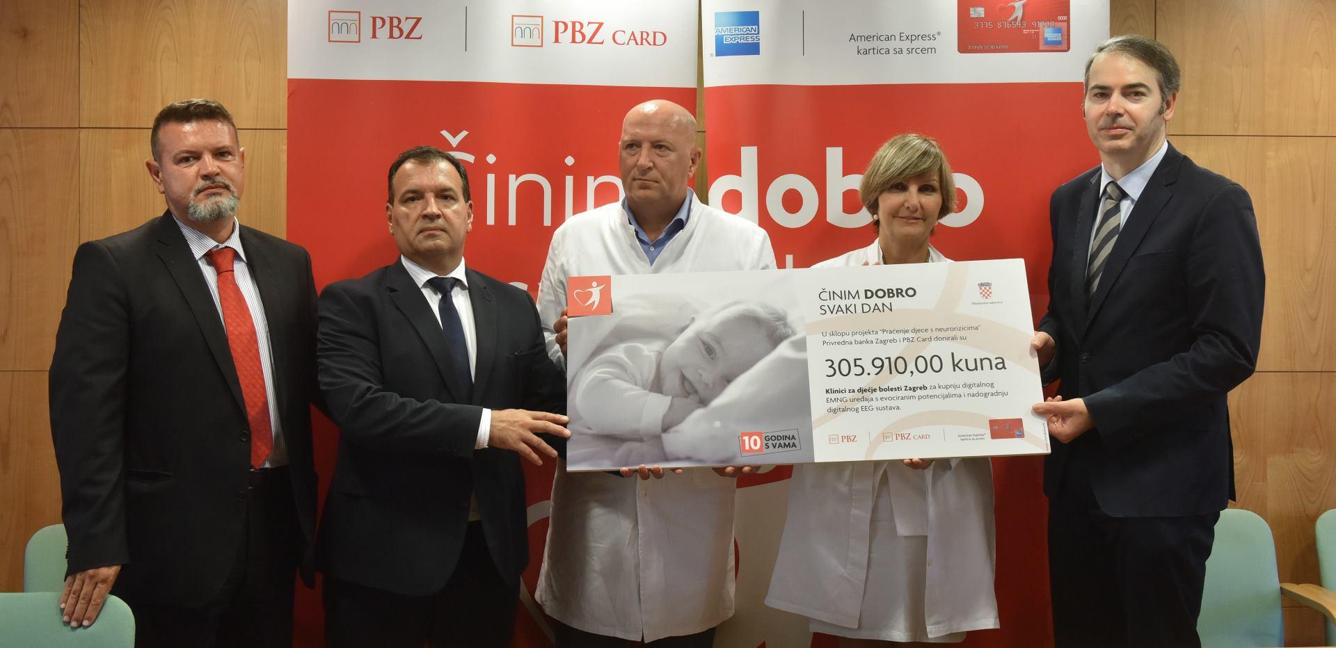 Klinika za dječje bolesti Zagreb dobila vrijednu donaciju PBZ Grupe
