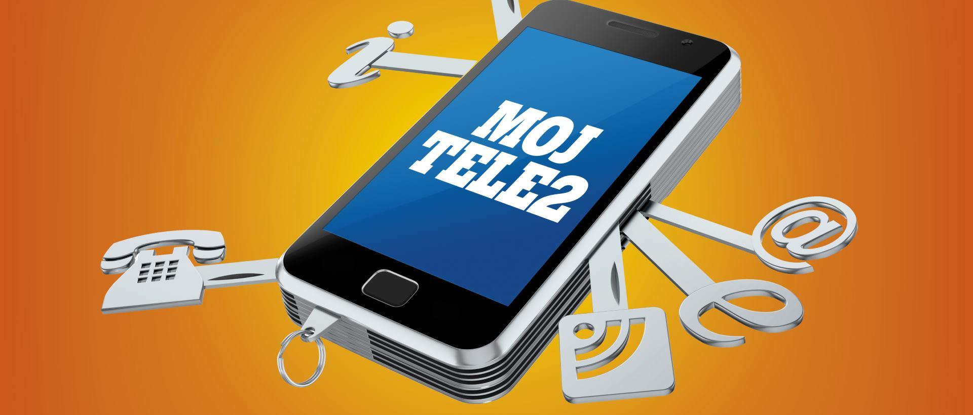MojTele2 iOS aplikacija dostupna i u Apple storeu