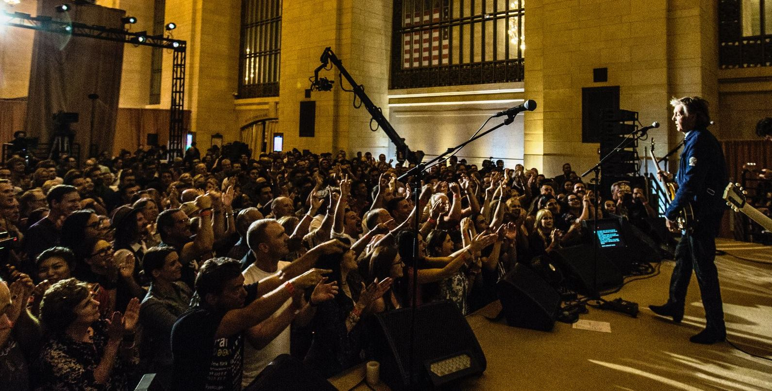 VIDEO: Paul McCartney nastupio u Grand Central Stationu u New Yorku