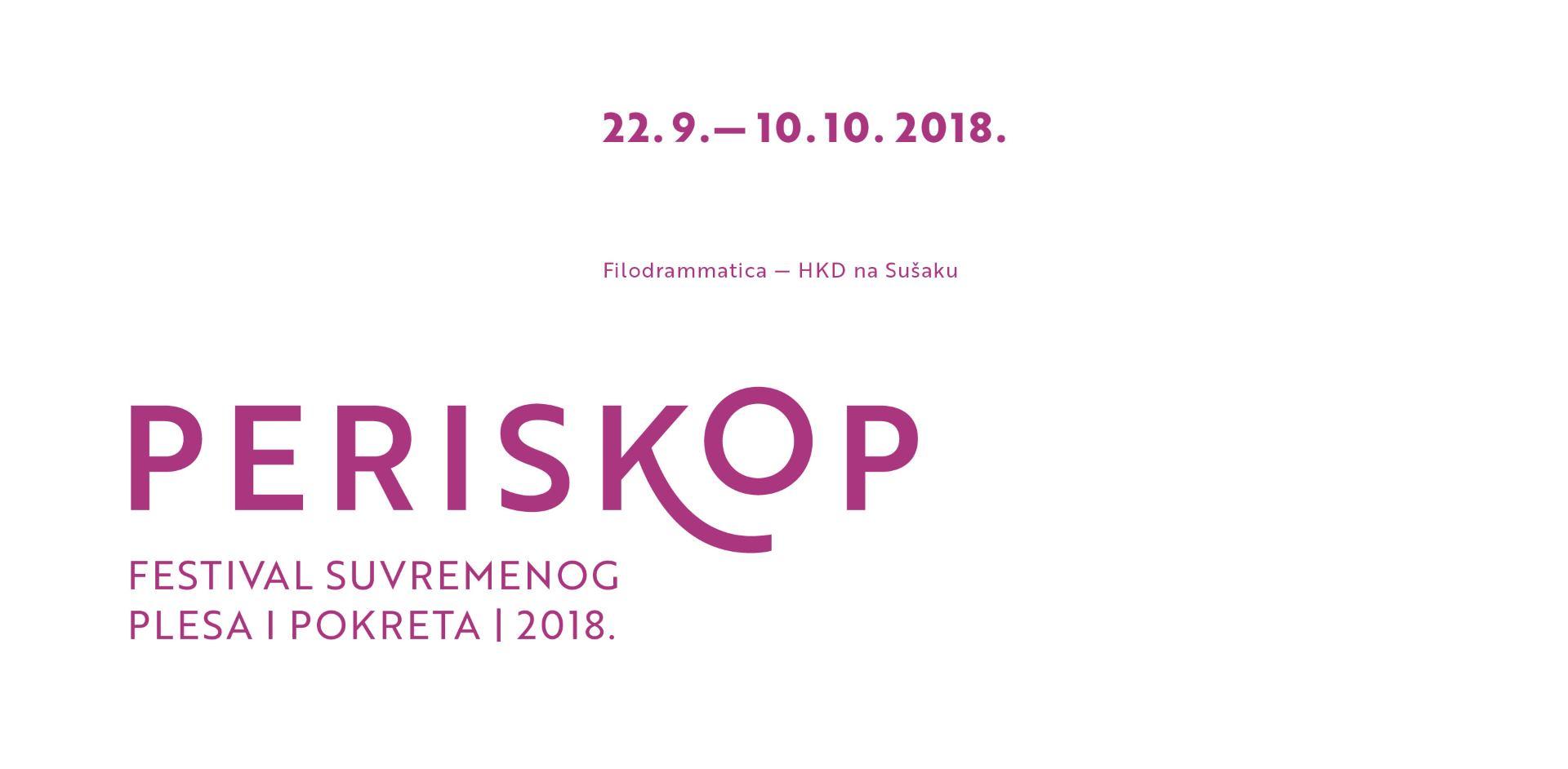 Festival suvremenog plesa 'Periskop' poziva mlade autore na prijavu koreografskih djela