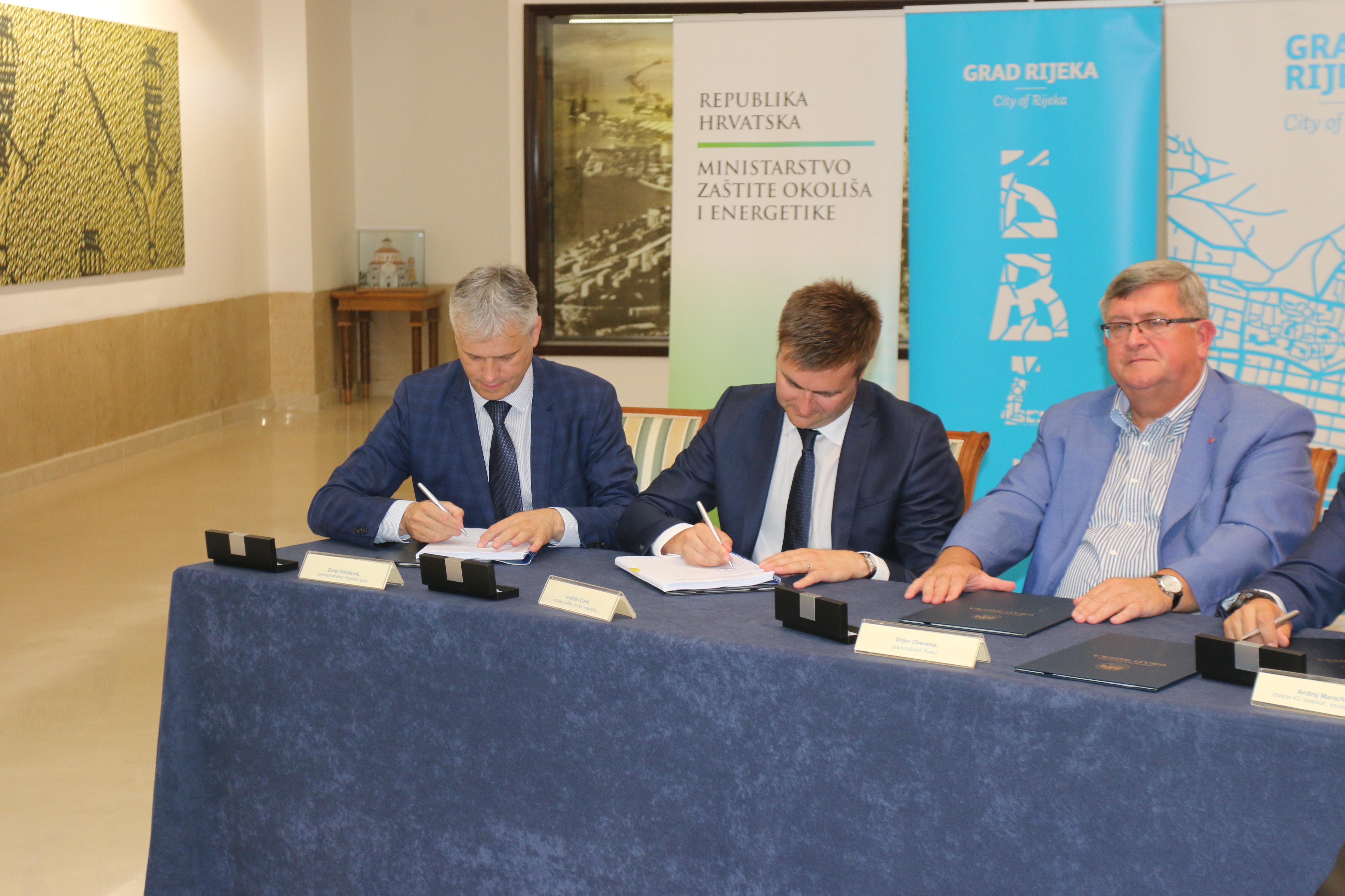 Za vodno – komunalnu infrastrukturu riječke aglomeracije 1,76 milijardi kuna, od toga 71 posto europska sredstva