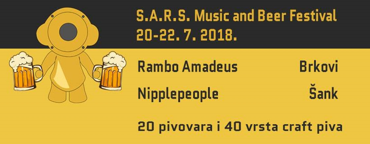 Traje šesnaesto izdanje S.A.R.S. Music and beer festivala