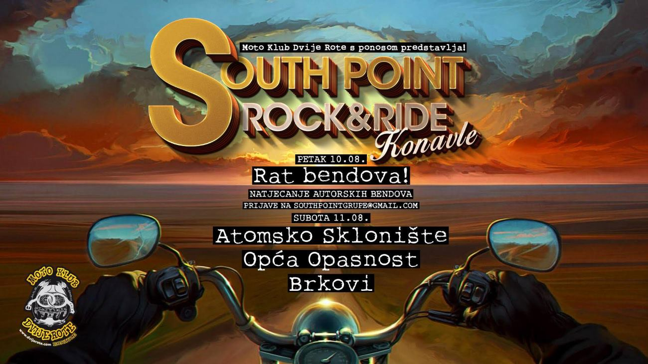 VIDEO: Glavni dan moto-festivala South point rock & ride