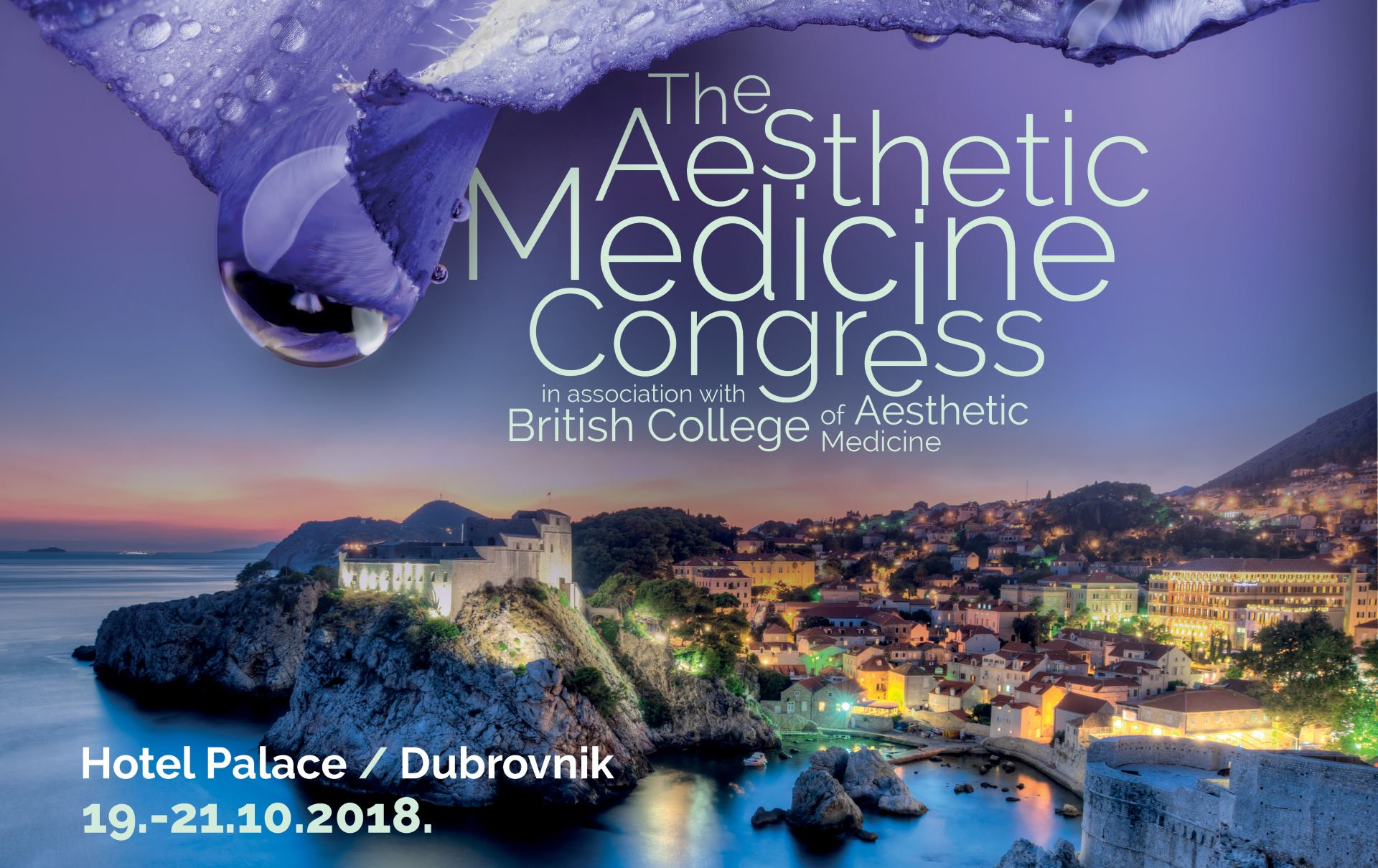 The Aesthetic Medicine Congress ovog listopada u Dubrovniku