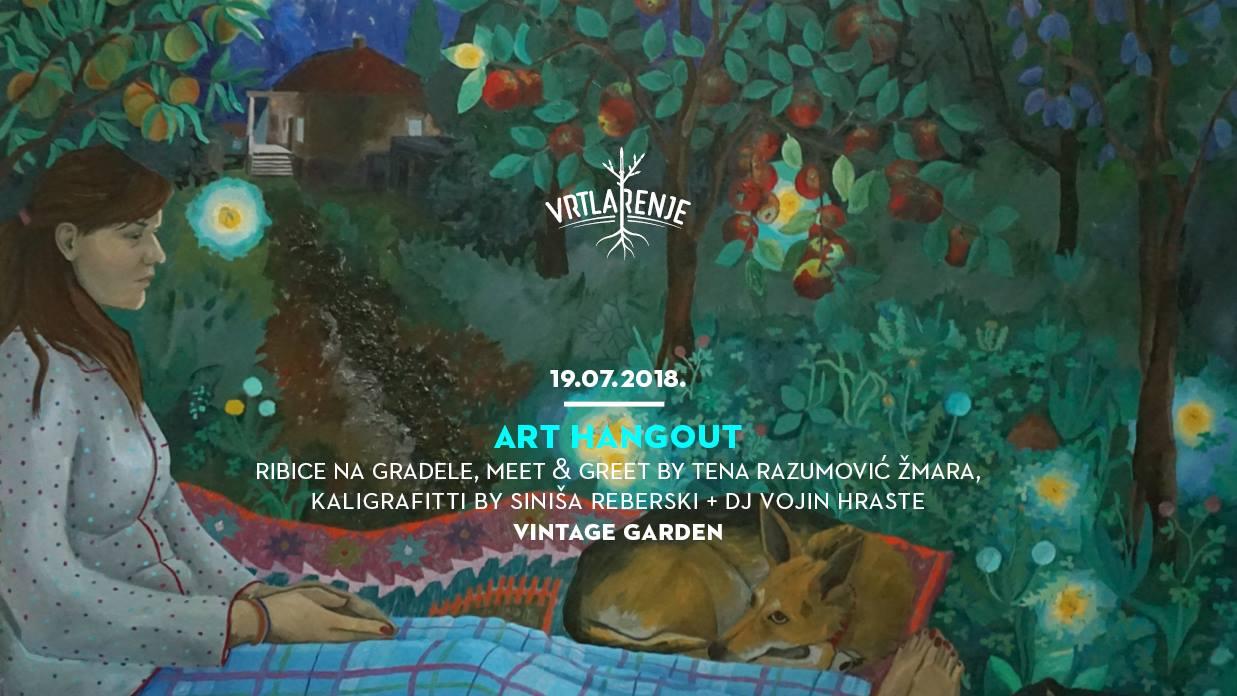 VINTAGE INDUSTRIAL Posjetite zanimljivo 'Vrtlarenje' – Art Hangout vol. 2
