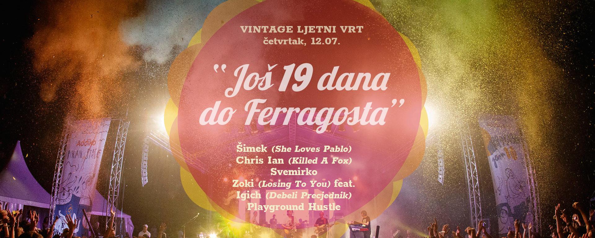 Zagrijavanje za veliki festival Ferragosto JAM 11