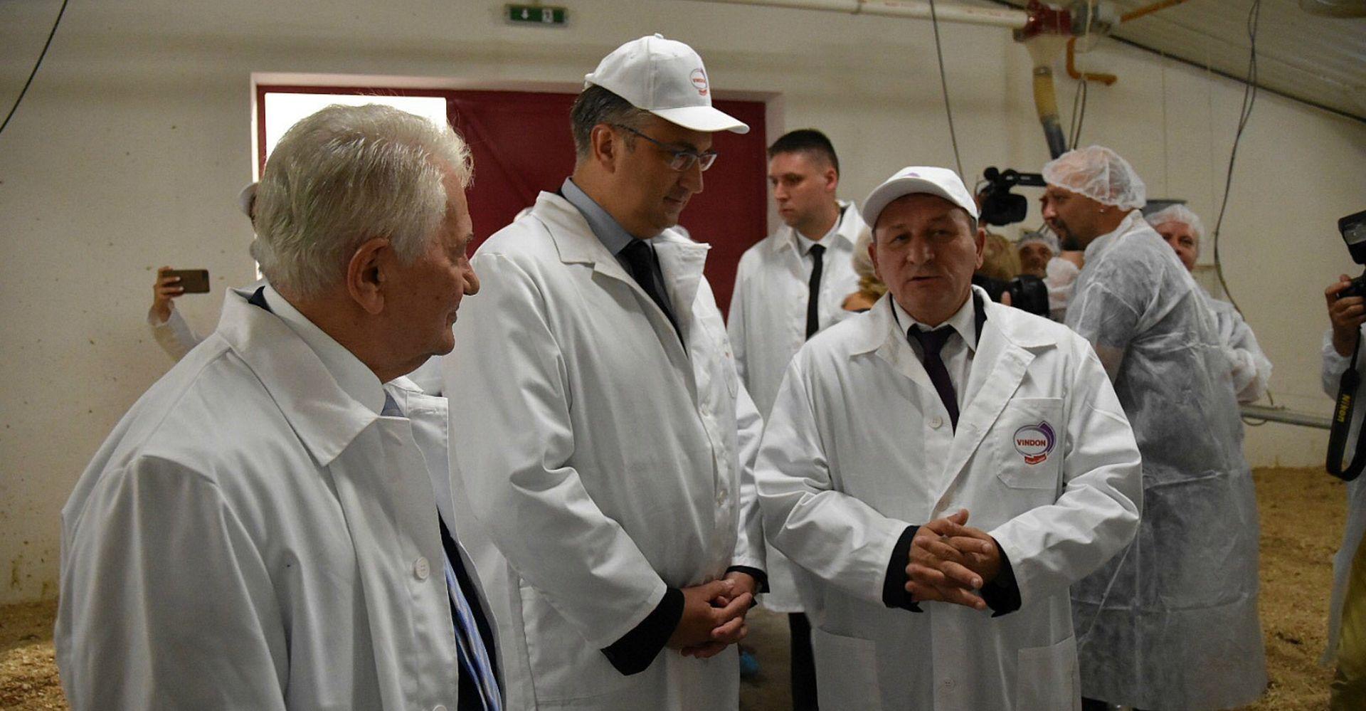 """PLENKOVIĆ NA OTVORENJU FARME PURANA """"Slavonija je prioritet Vlade"""""""