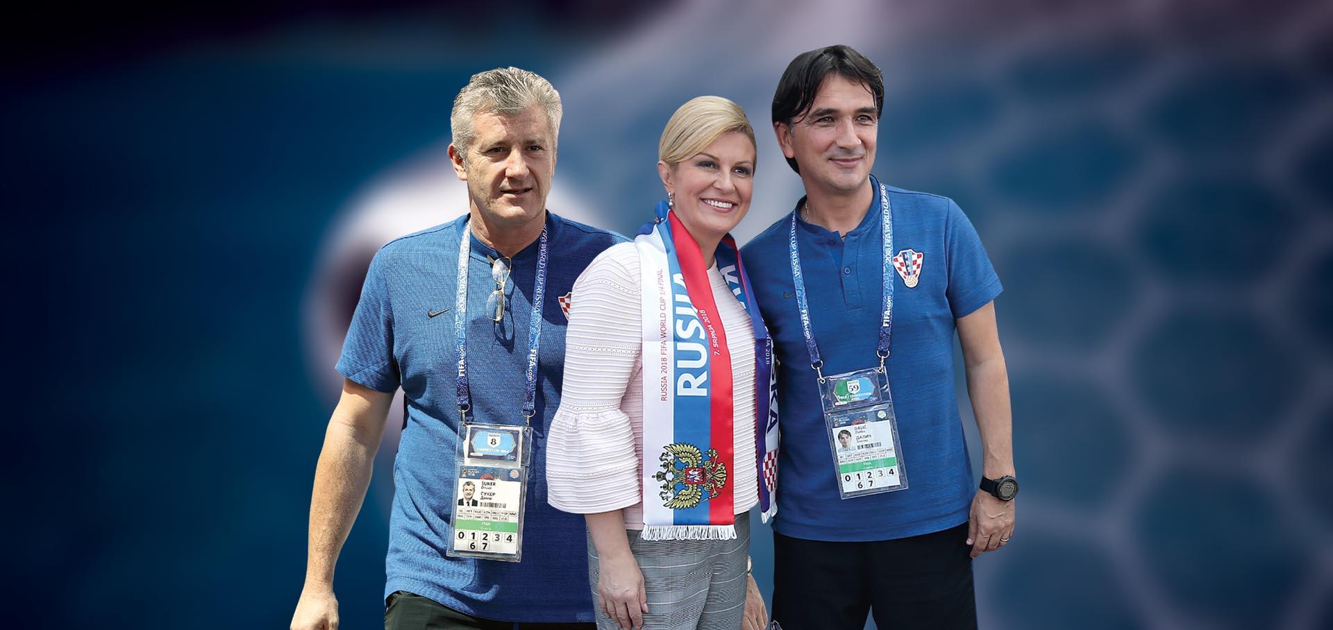 EKSKLUZIVNO Prva navijačica Hrvatske želi kontrolu nad nogometom
