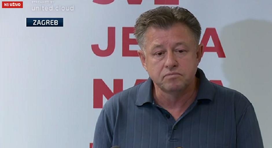 """JELUŠIĆ """"Predsjedništvo SDP-a predlaže Bernardića za šefa Kluba"""""""