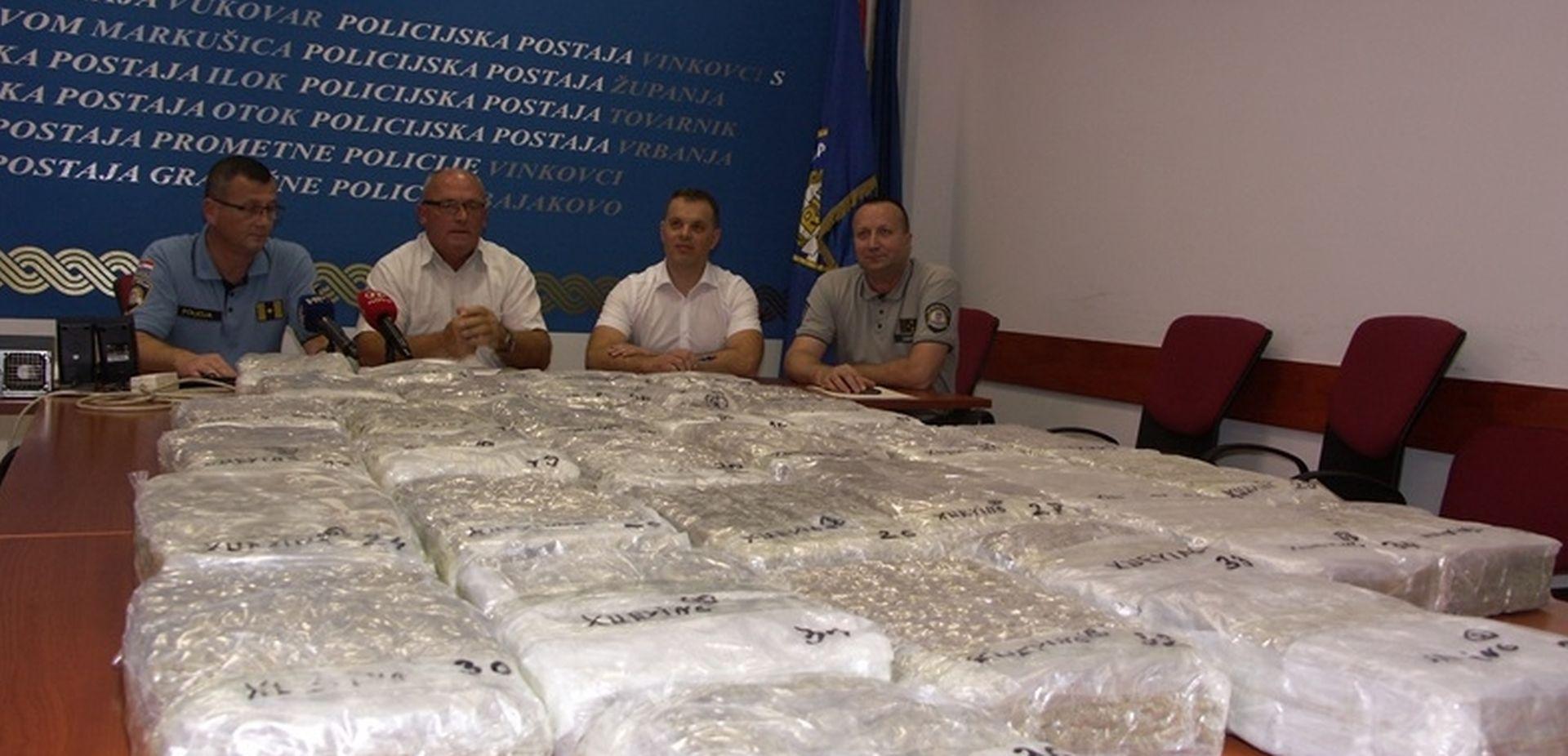 Na Bajakovu uhićen 74-godišnji Nijemac s 38 kilograma marihuane