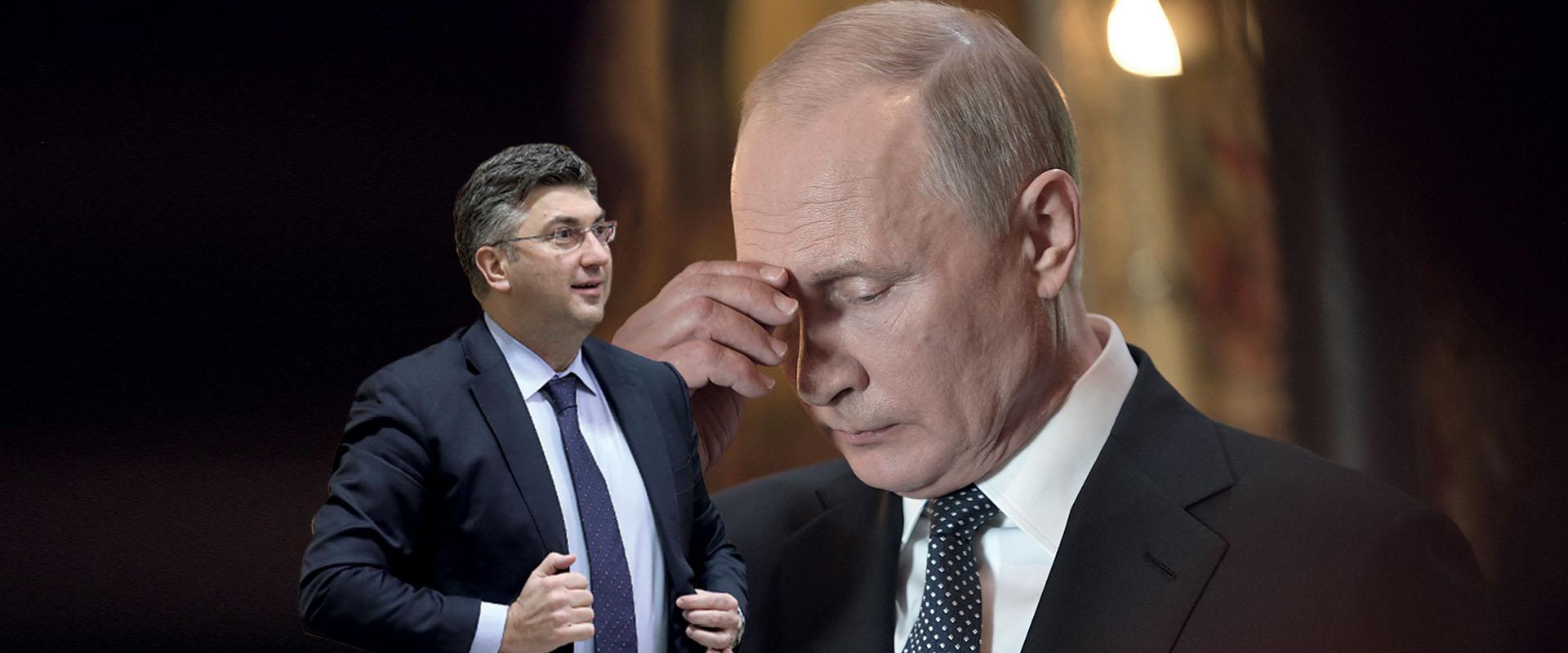 EKSKLUZIVNO Plenković uzrujao Putina jer ignorira ruske ponude investicija