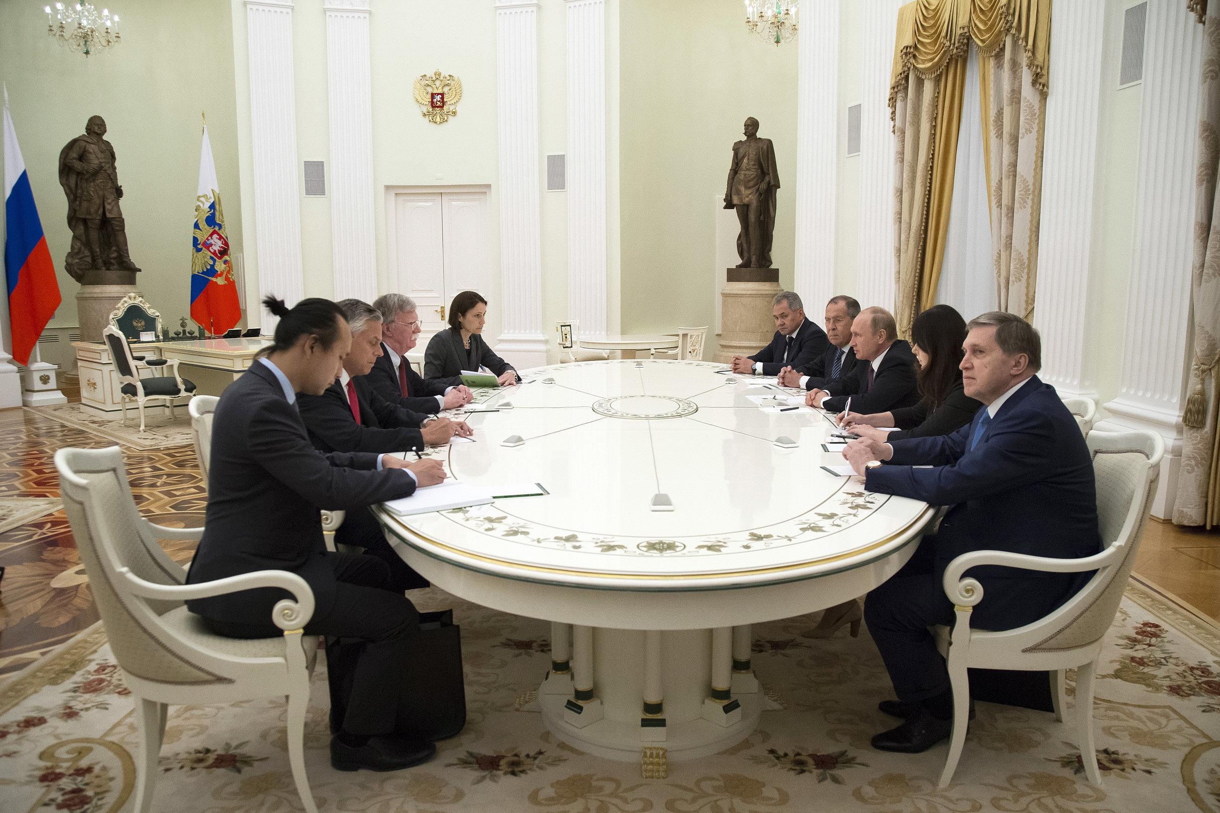 Bolton s Putinom razgovarao o ruskoj umiješanosti u američke predsjedničke izbore 2016. godine