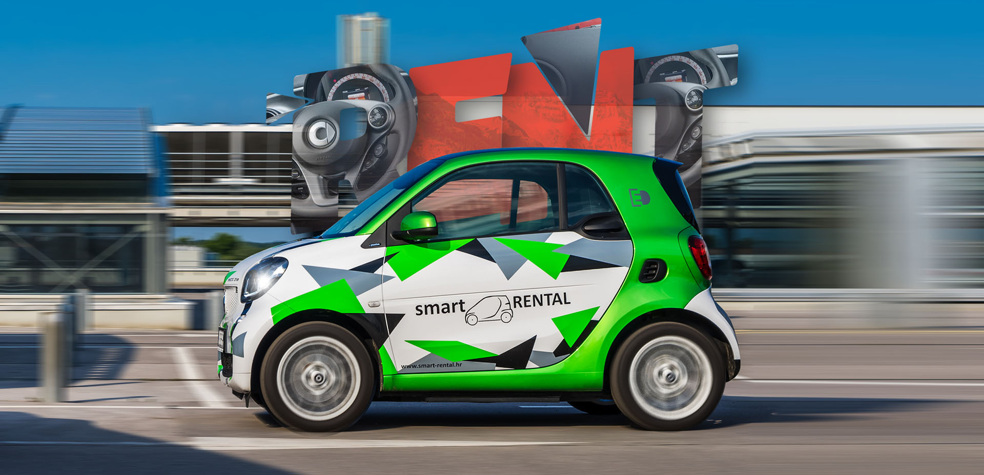 Think Smart, Rent an Electric Smart!
