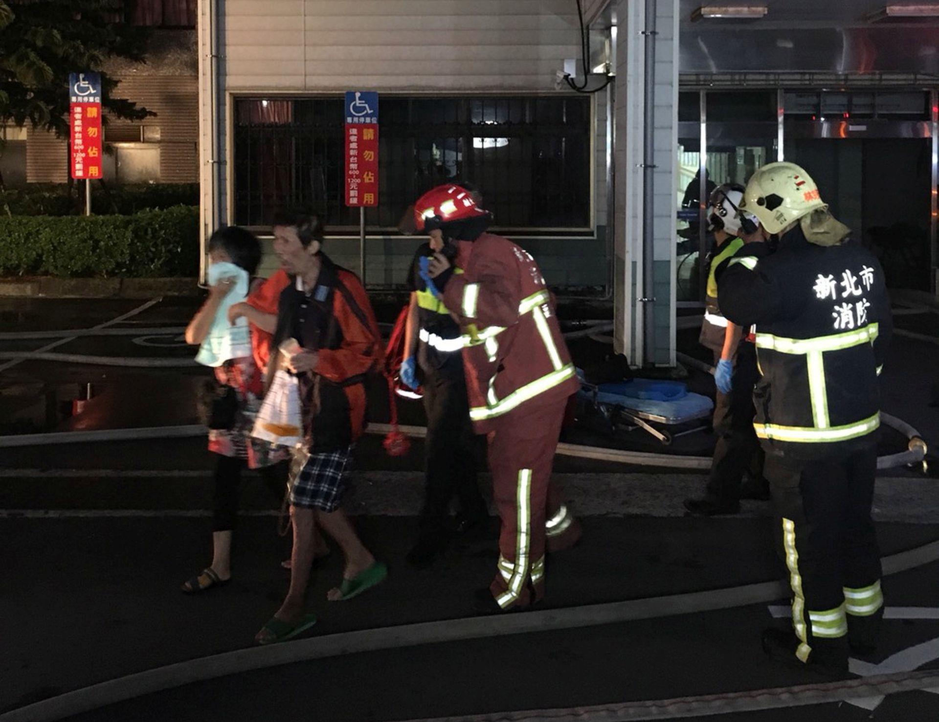 TAJVAN Devet ljudi smrtno stradalo u požaru u bolnici