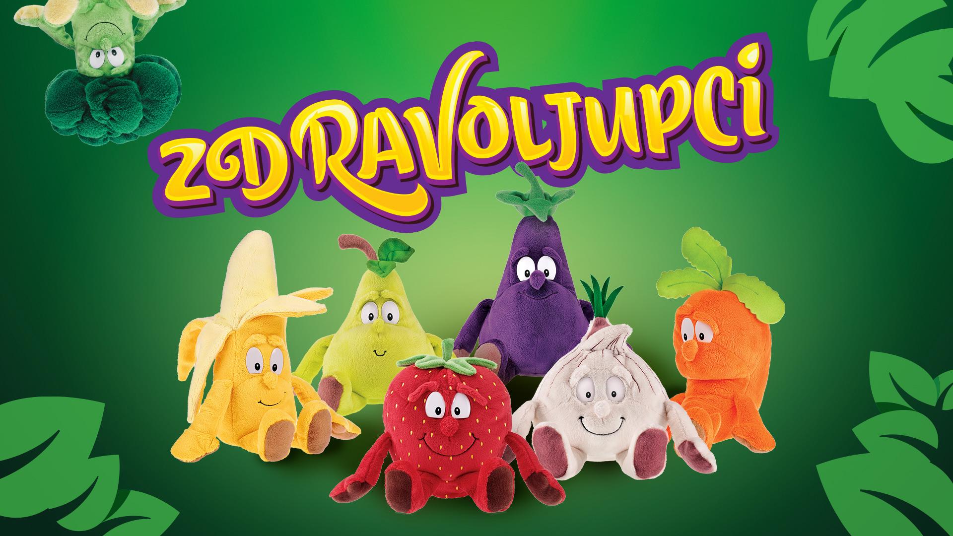 Raspjevano voće i povrće za promjene u prehrambenim navikama